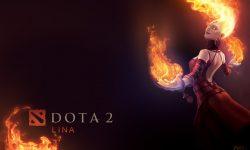 Dota2 : Lina widescreen wallpapers