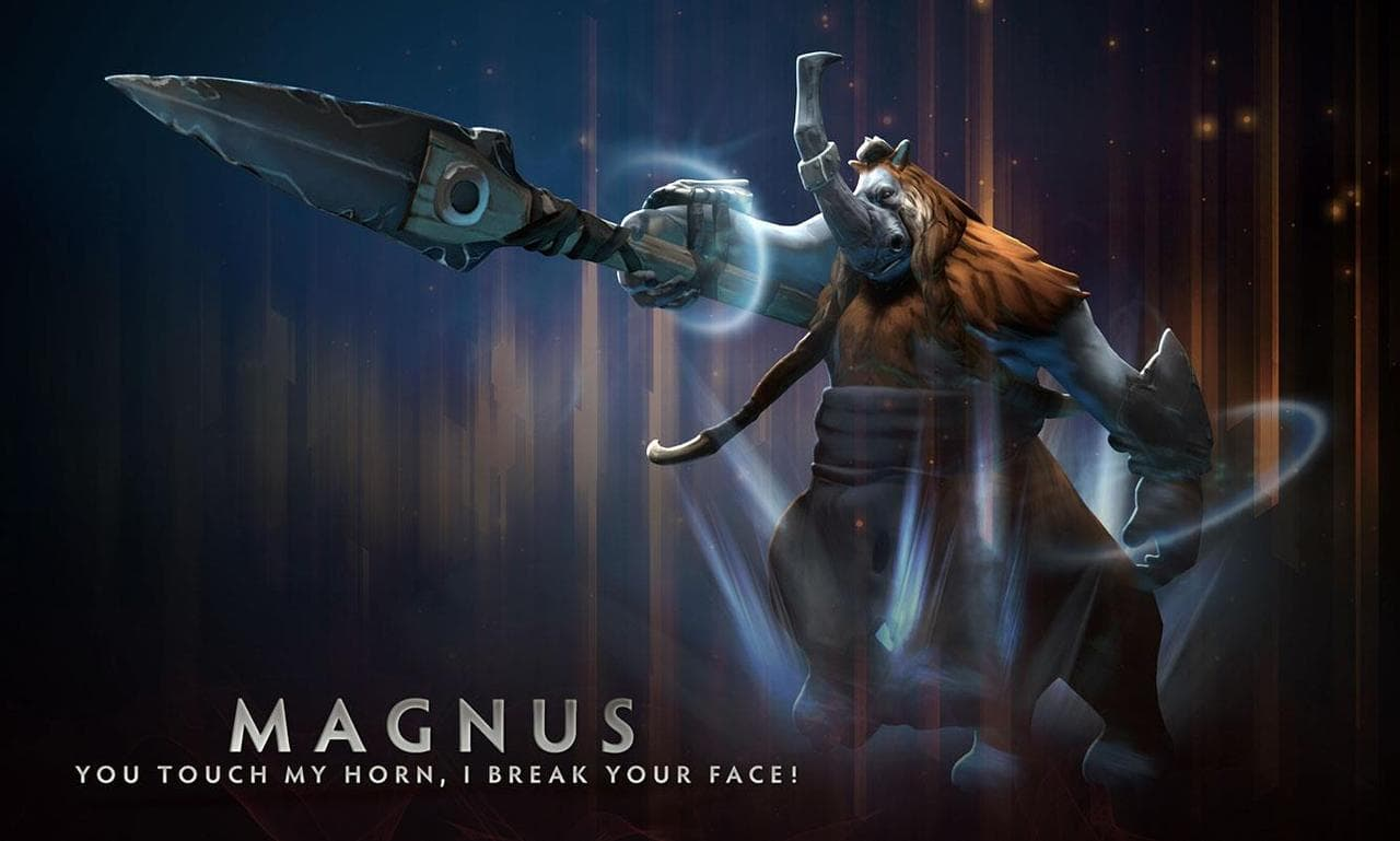 Dota2 : Magnus widescreen for desktop