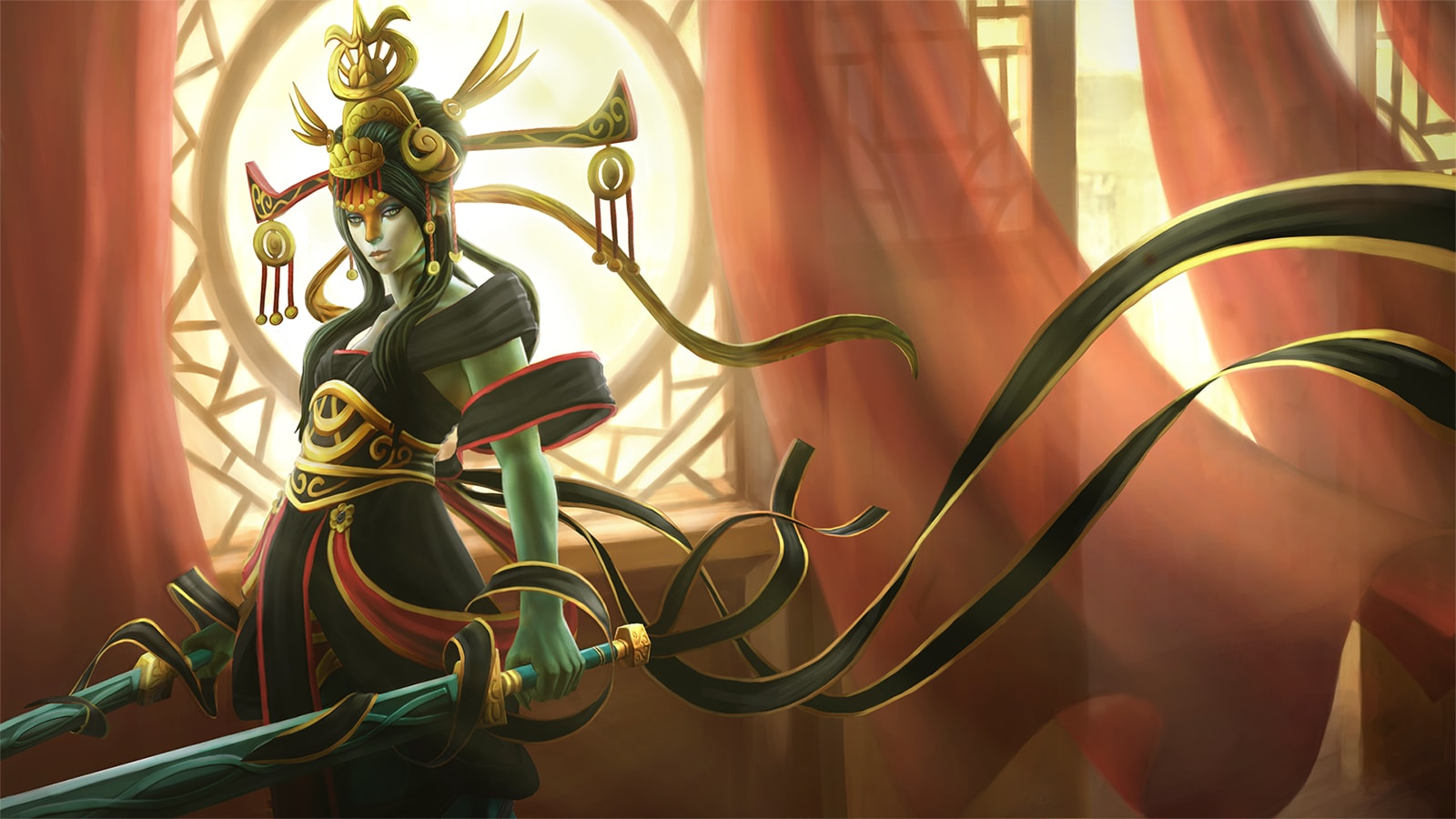 Dota2 : Naga Siren HD pics