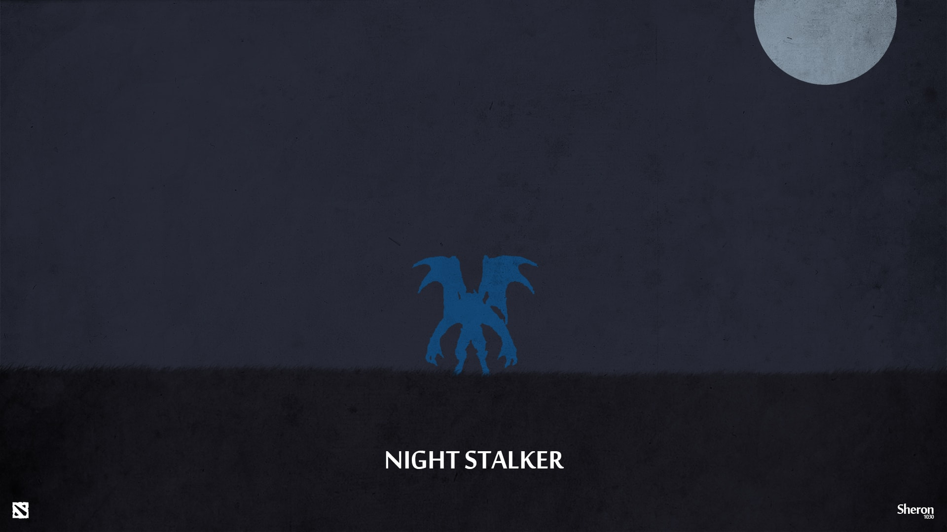 Dota2 : Night Stalker Background