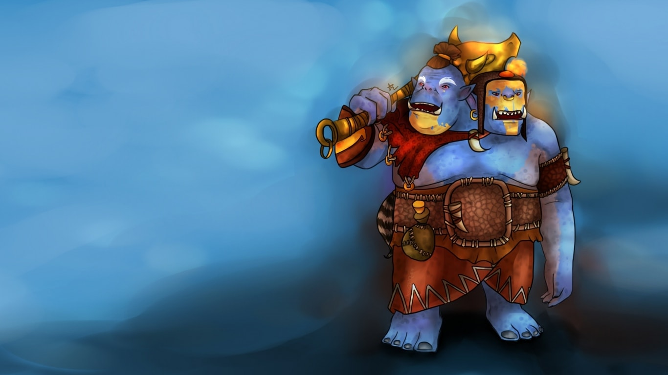 Dota2 : Ogre Magi Background