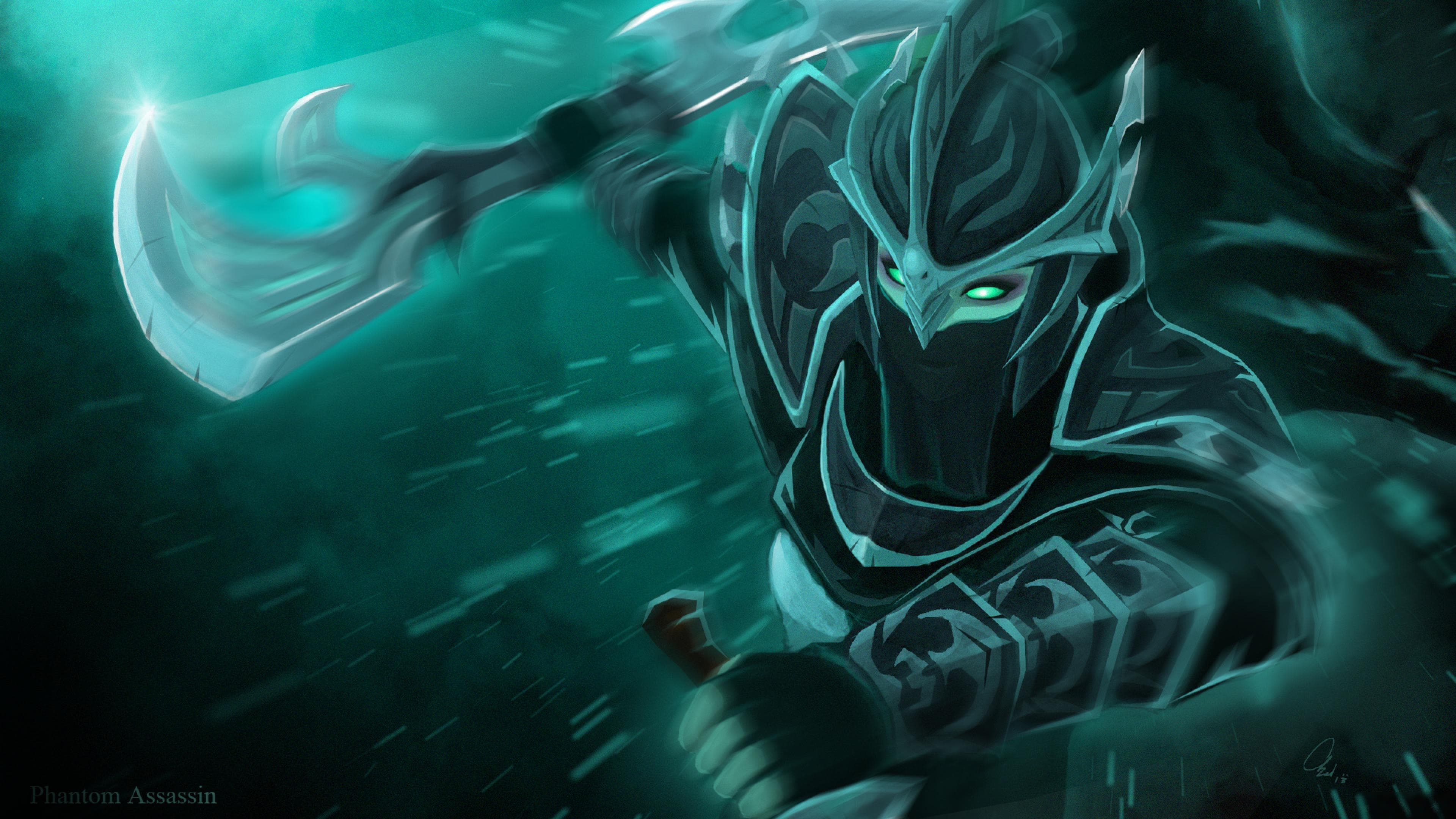 Dota2 : Phantom Assassin Background