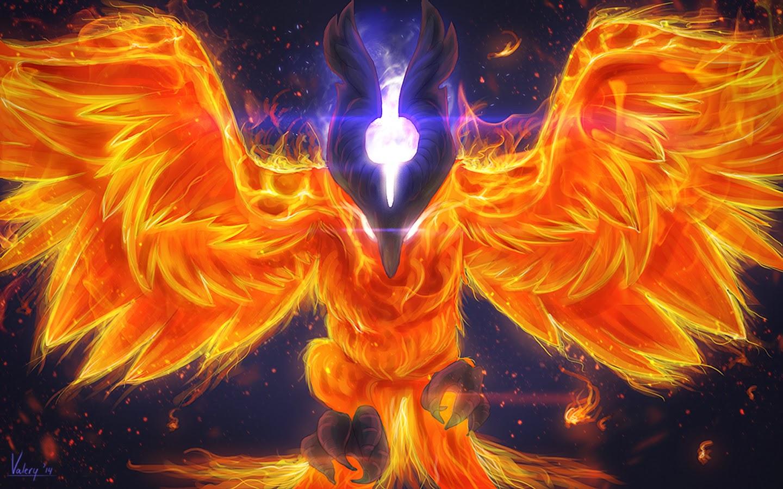 Dota2 : Phoenix widescreen wallpapers