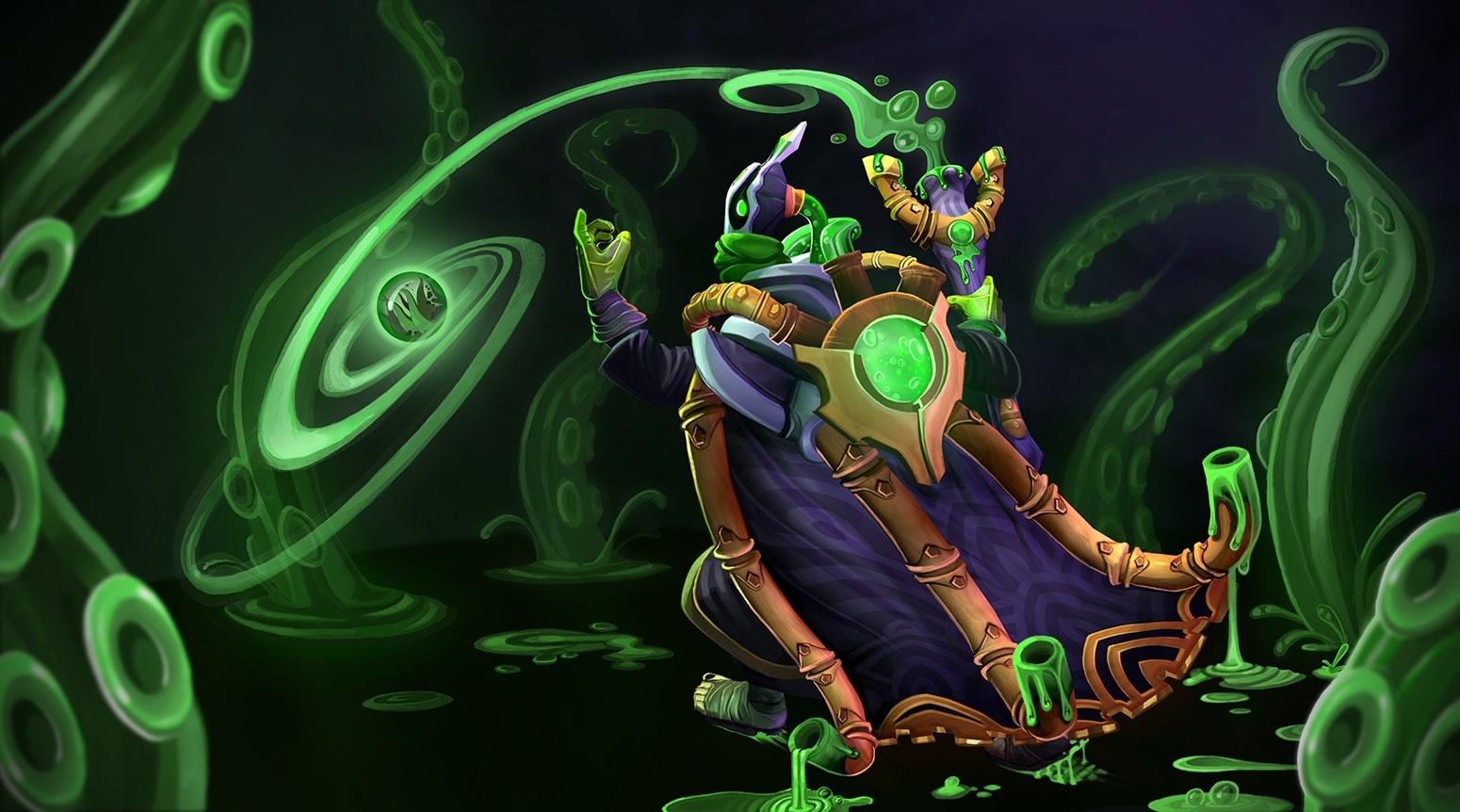 Dota2 : Rubick Background