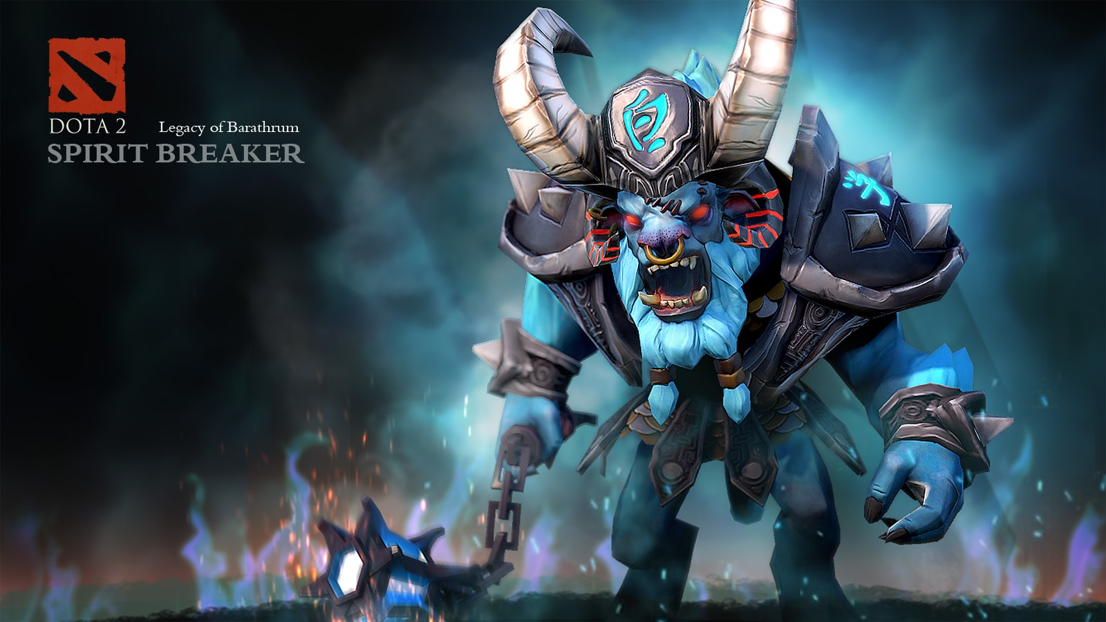 Dota2 : Spirit Breaker Background