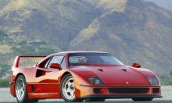 Ferrari F40 HD pics