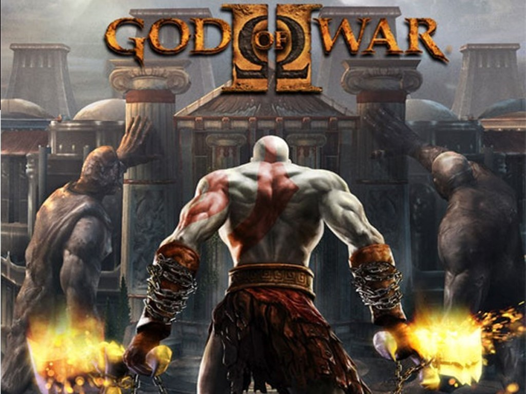 God Of War 2 Background