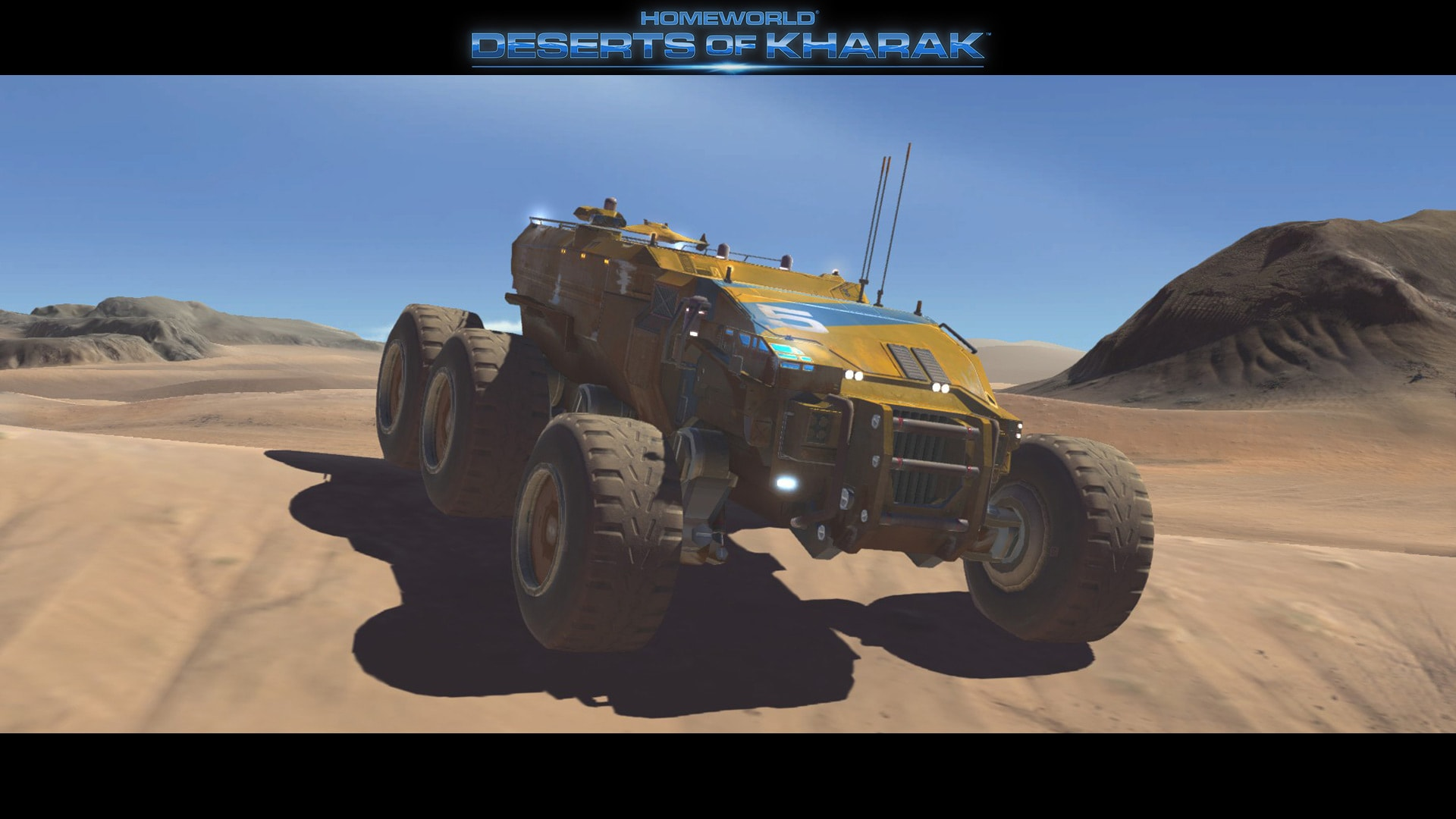 Homeworld: Deserts of Kharak HD pics