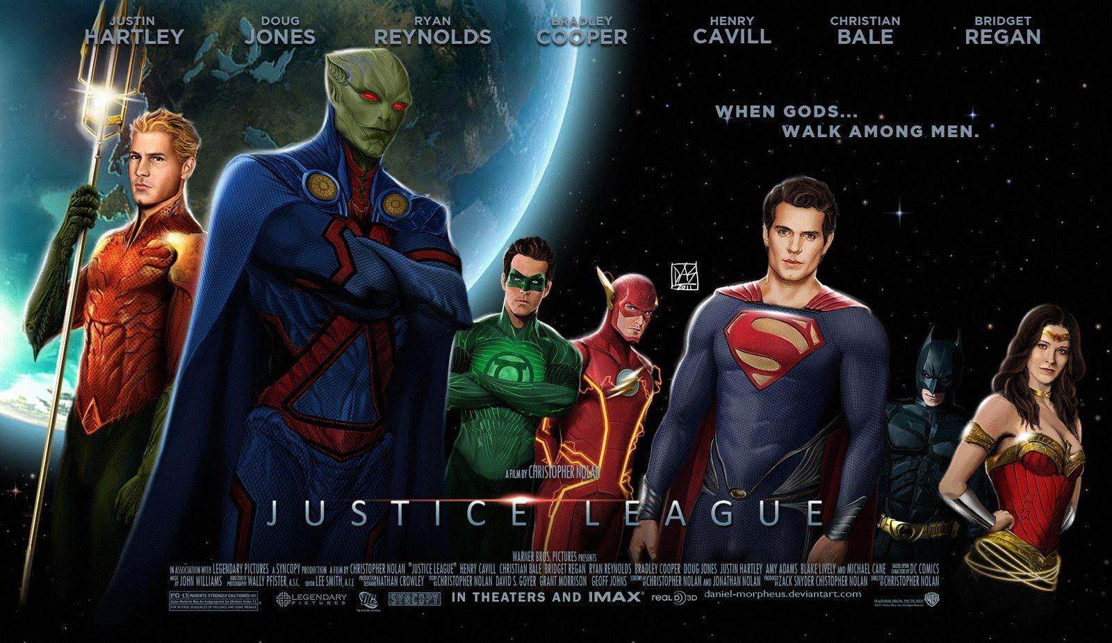 Justice League Screensavers