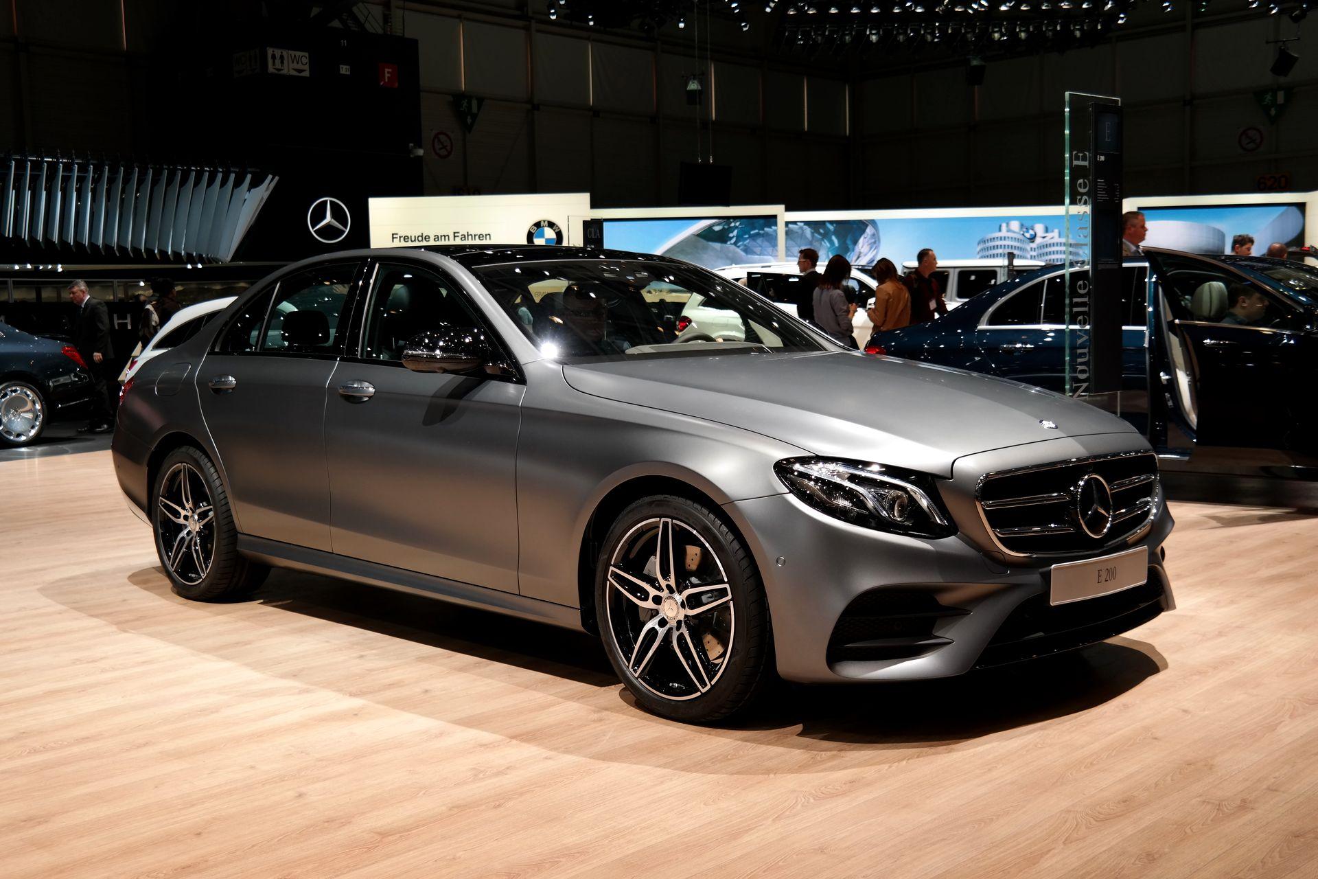 Mercedes E-Class W213 HD pics