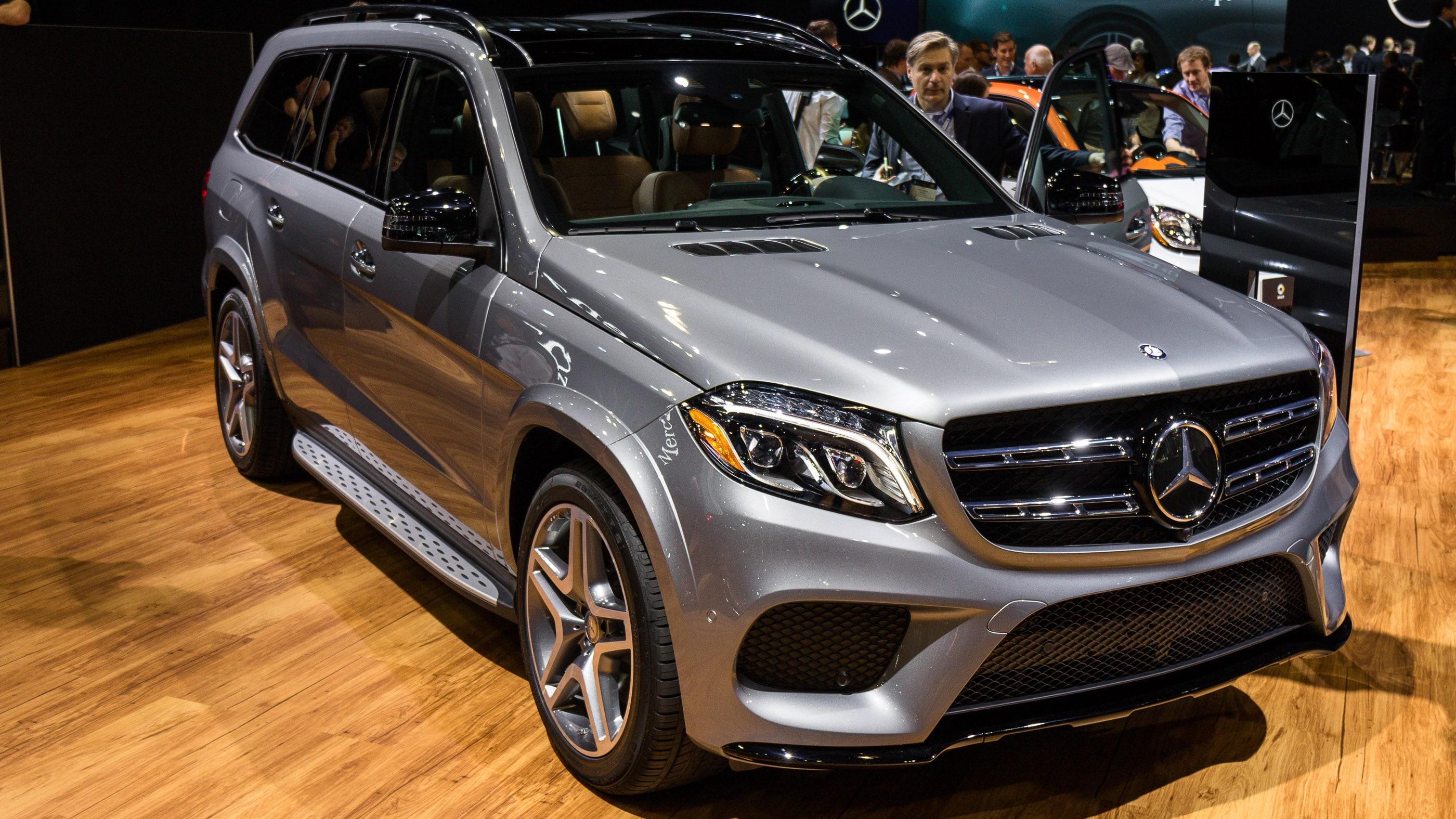 Mercedes GLS HD pics