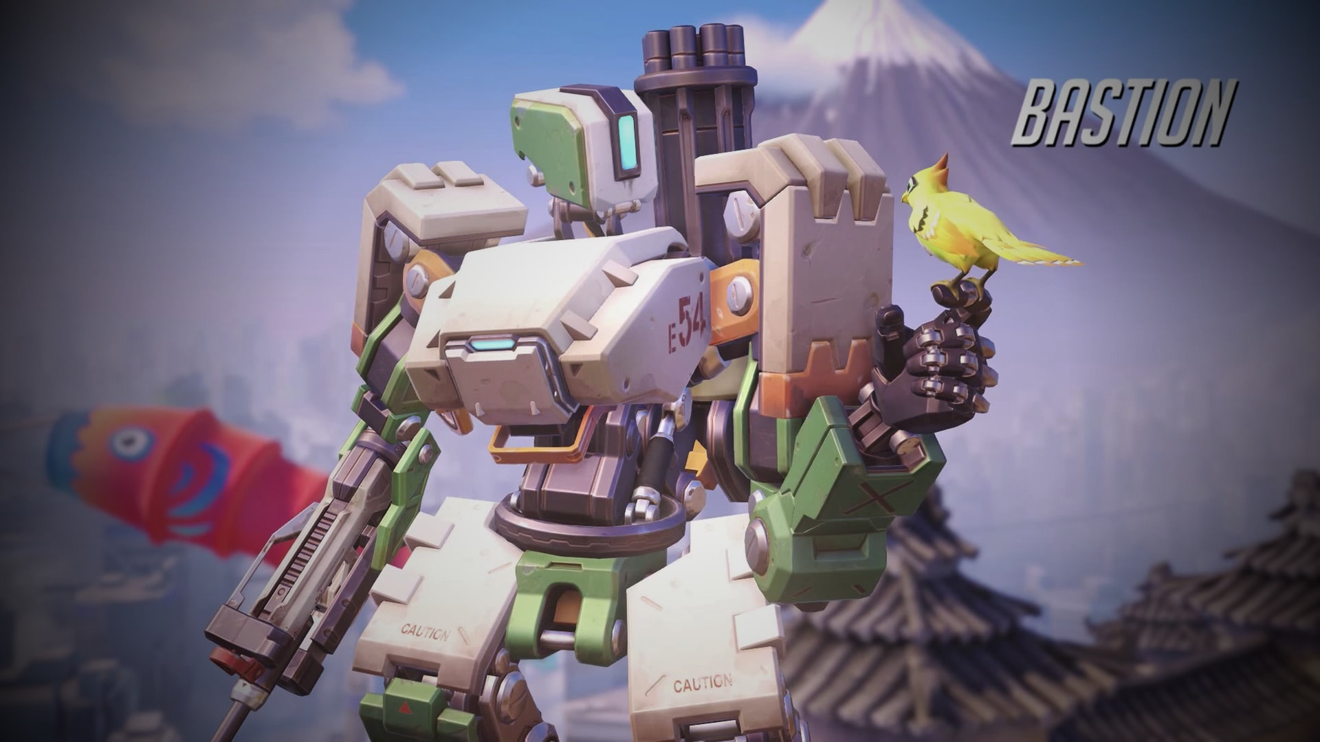 Overwatch : Bastion Wallpapers hd