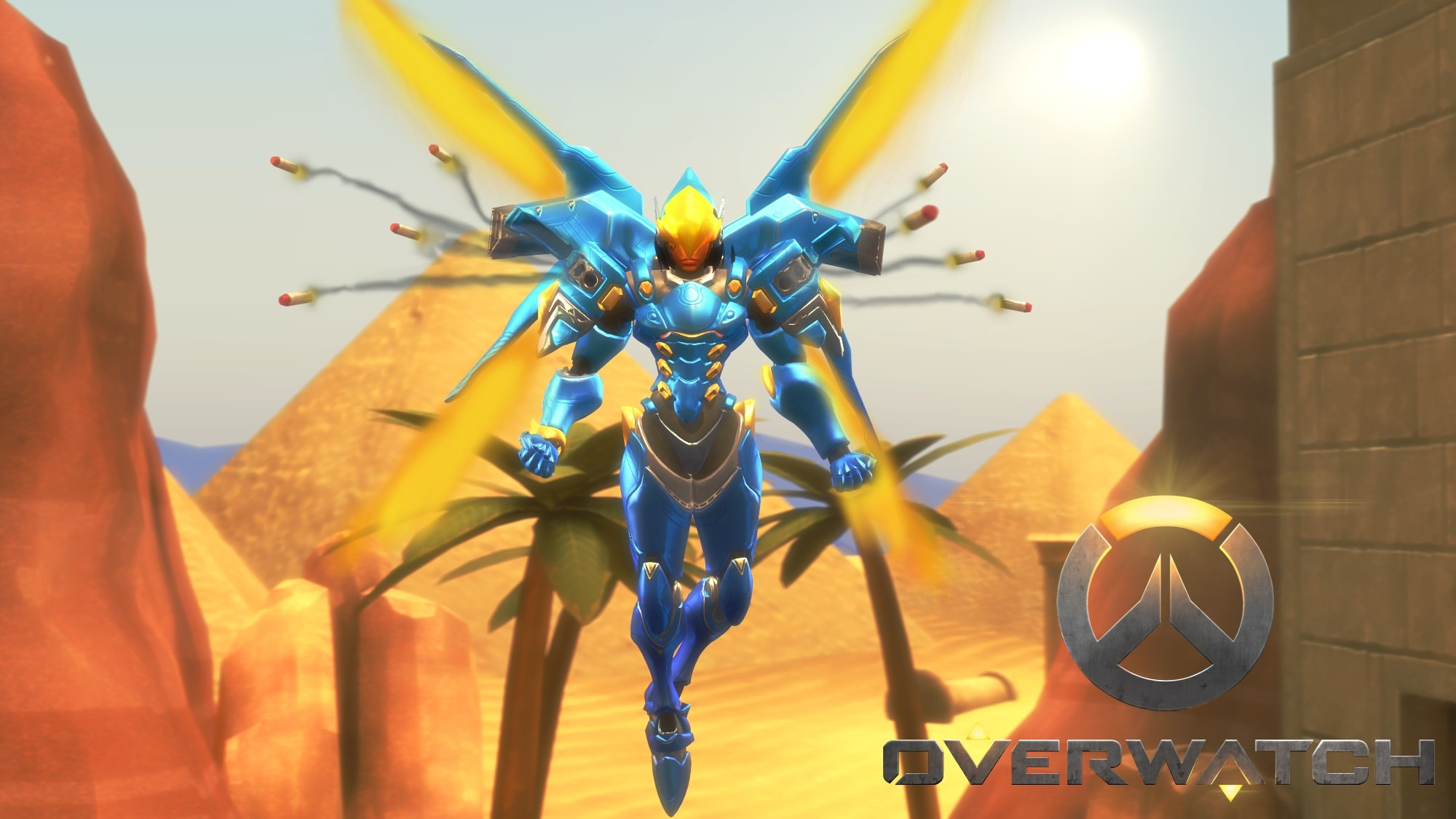 Overwatch : Pharah HD pics