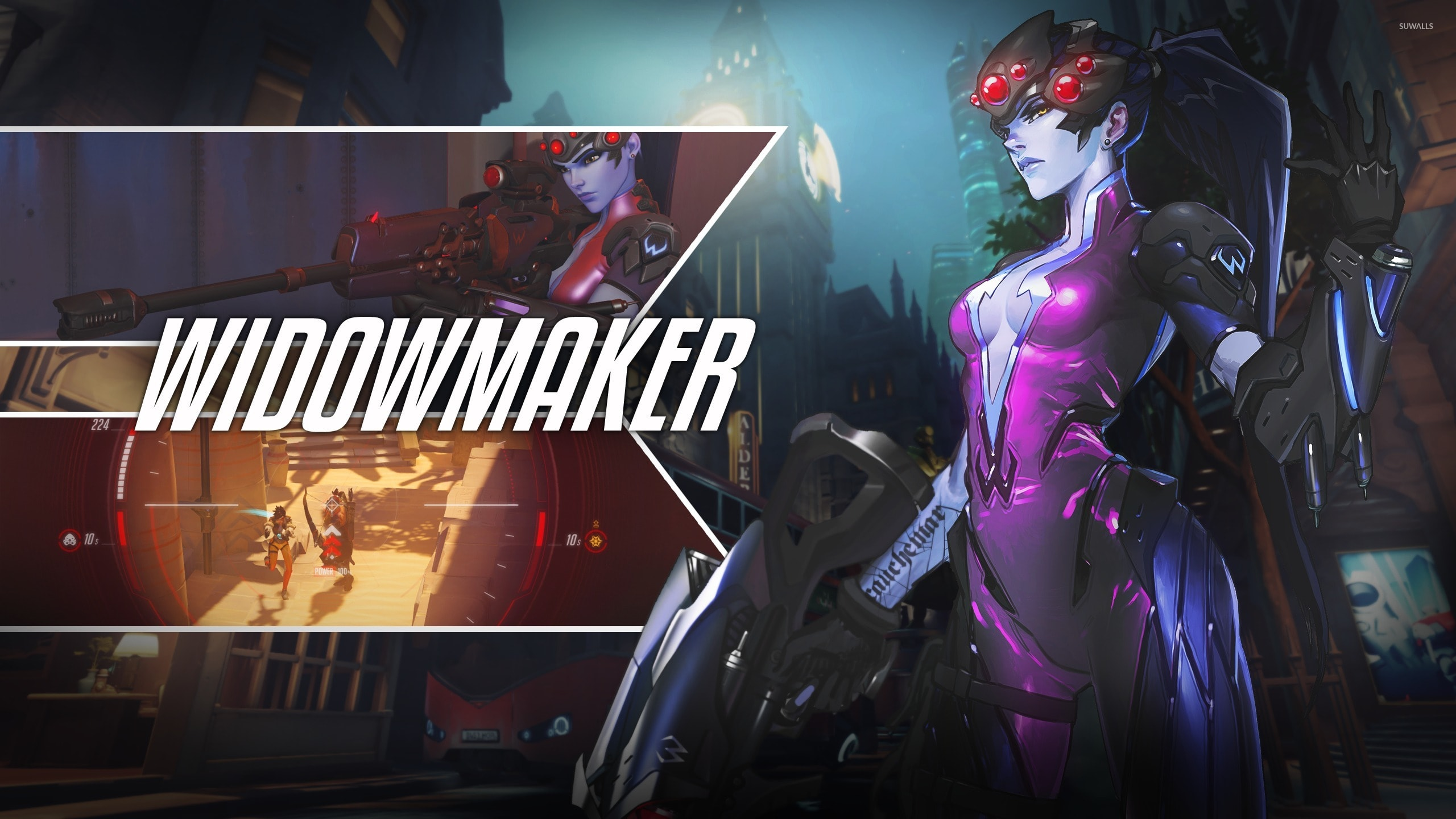 Overwatch : Widowmaker HD pics