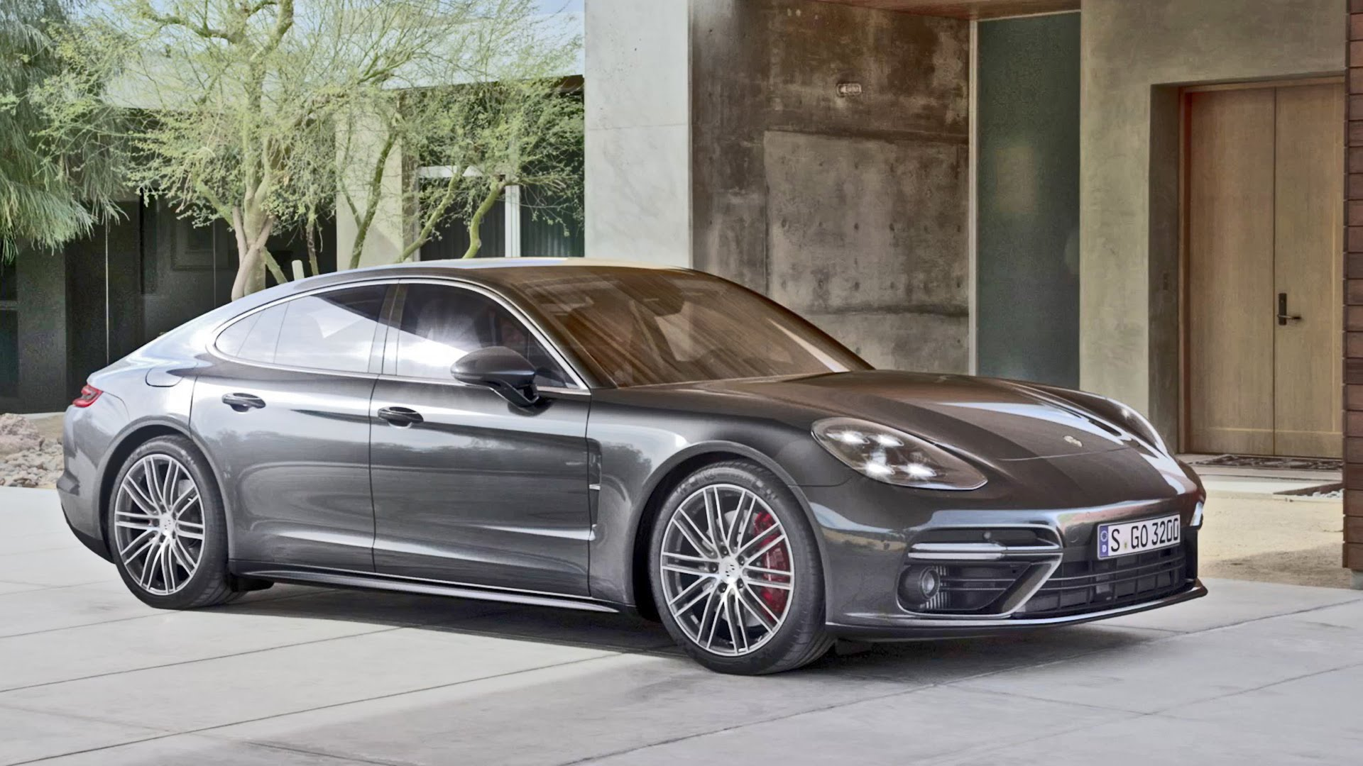 Porsche Panamera 2 HD pics