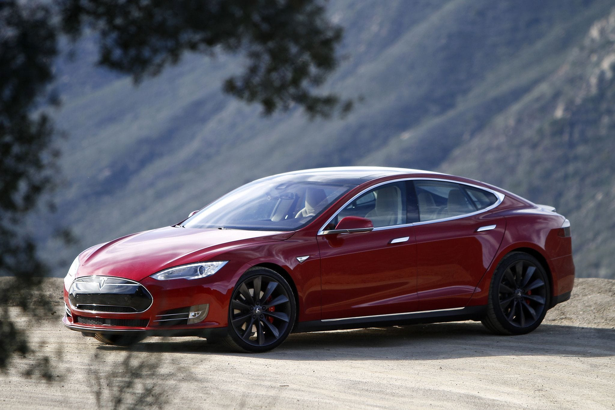 Tesla Model S HD pics