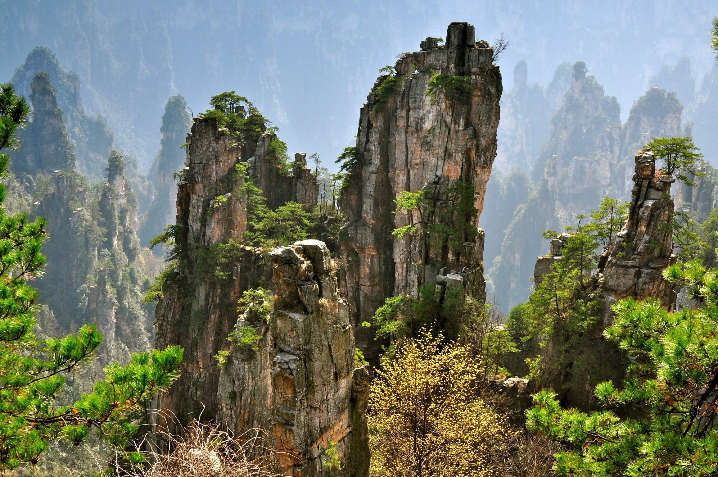 Tianzi Mountain HD pics