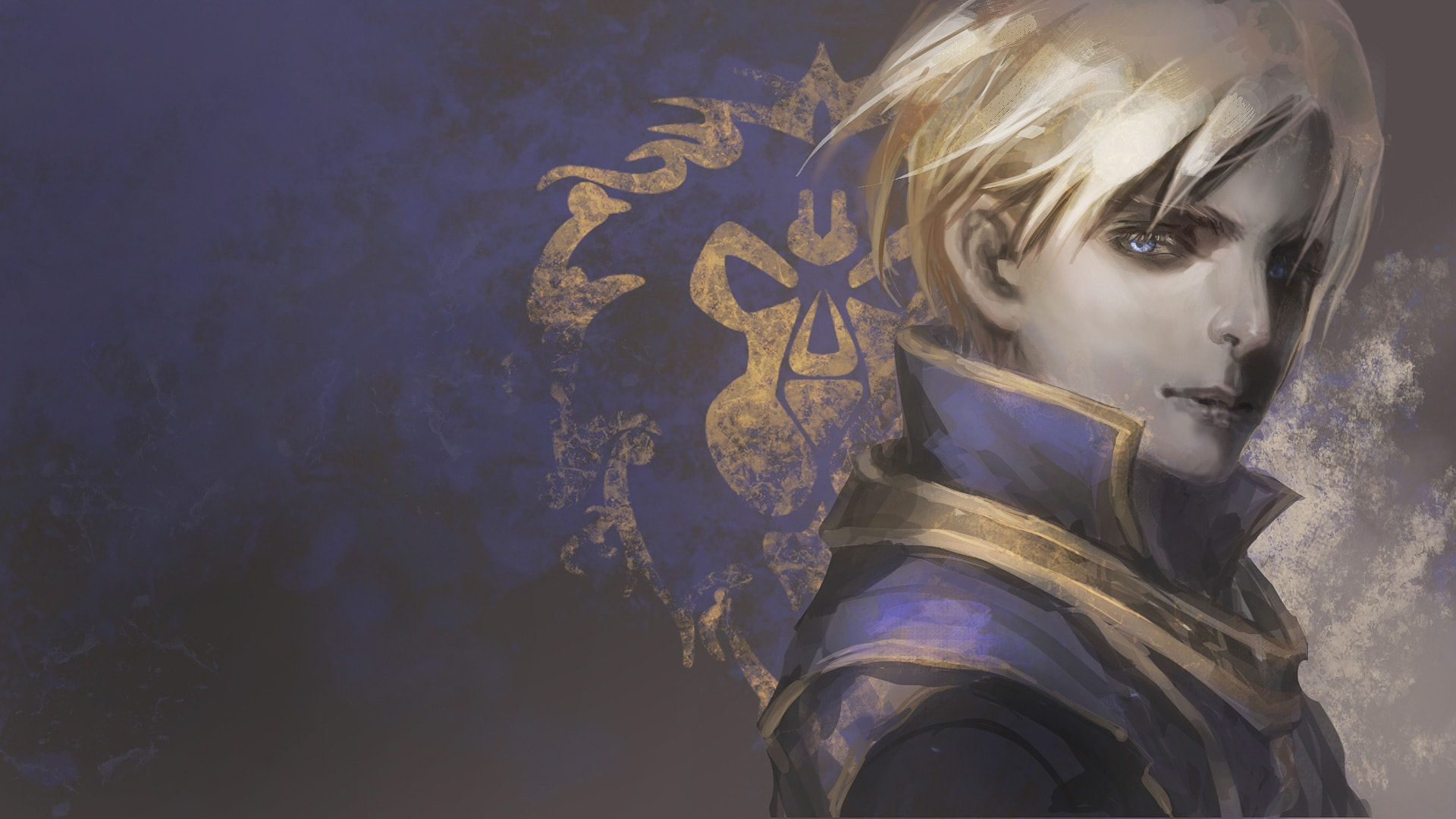WOW: Anduin Wrynn widescreen wallpapers
