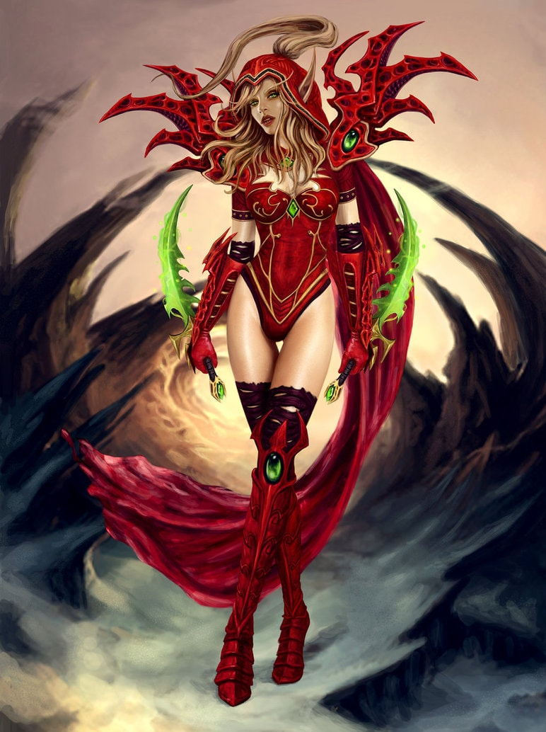 WOW: Valeera Sanguinar HD pics