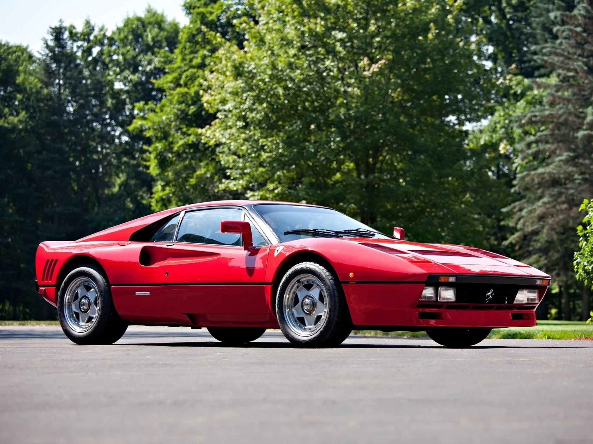 1984 Ferrari GTO Wallpapers hd