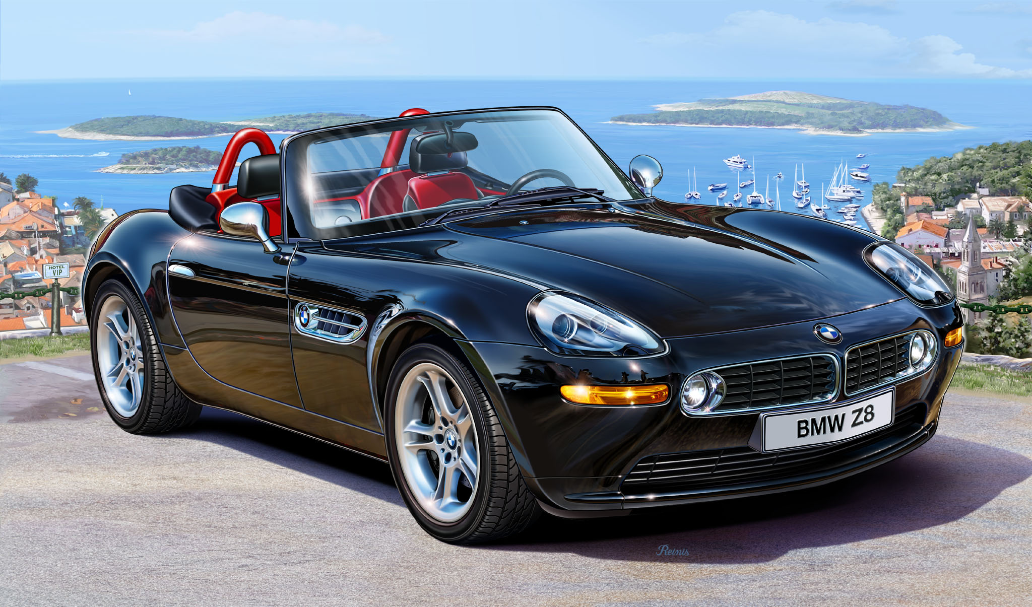 Bmw Z8 Hd Desktop Wallpapers 7wallpapers Net