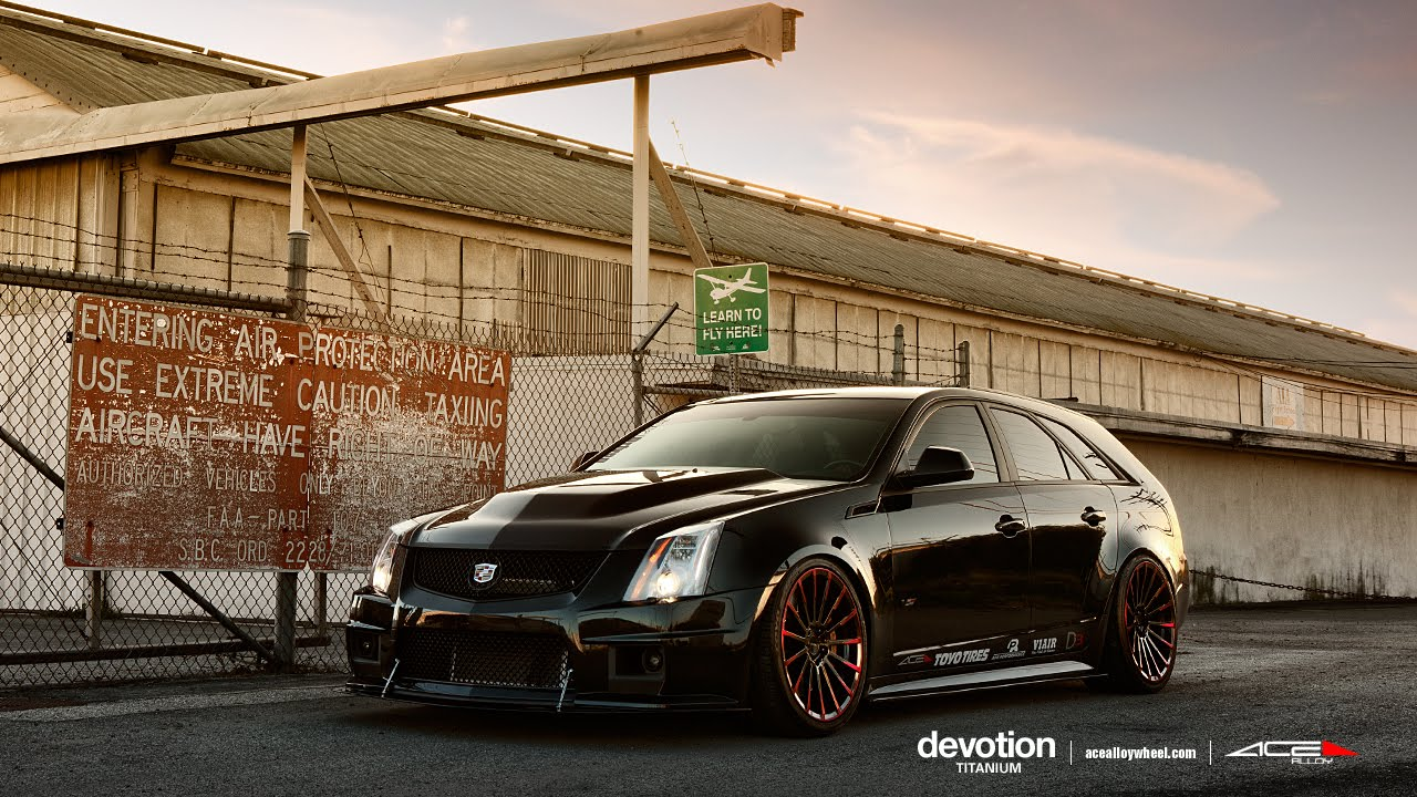 Cadillac CTS-V Wagon Wallpapers hd