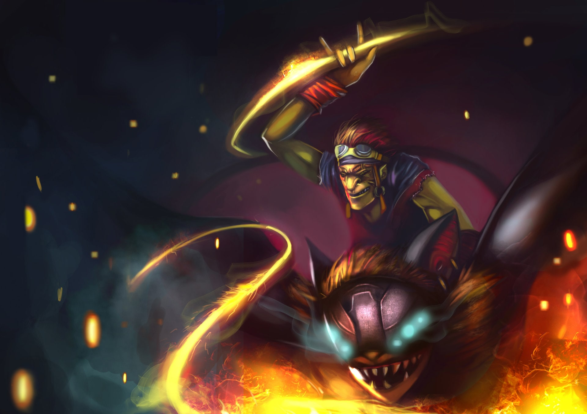 Dota2 : Batrider HQ wallpapers