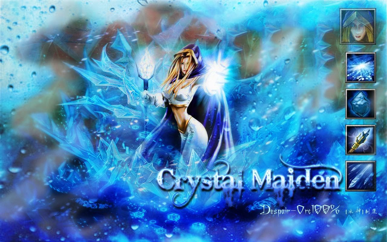 Dota2 : Crystal Maiden Wallpapers hd