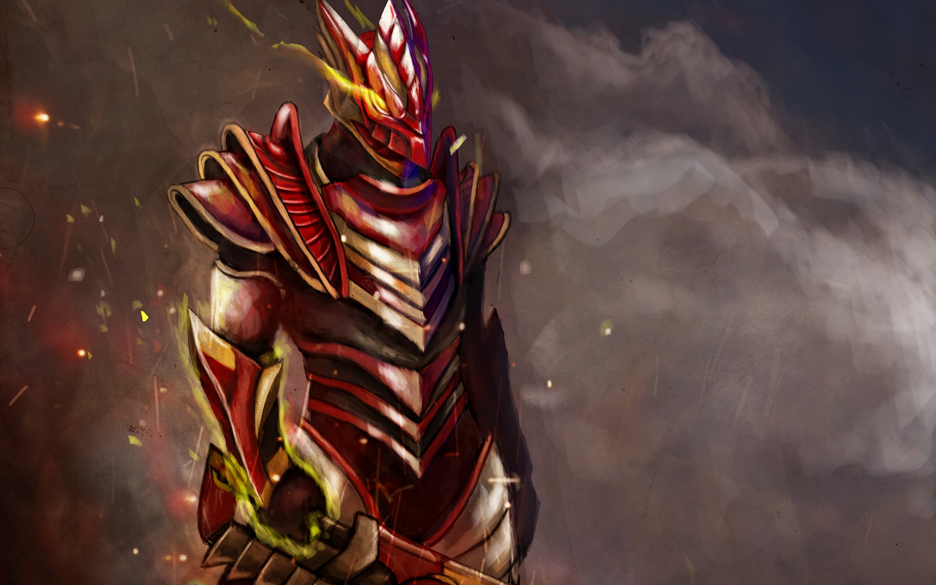 Dota2 : Dragon Knight Background