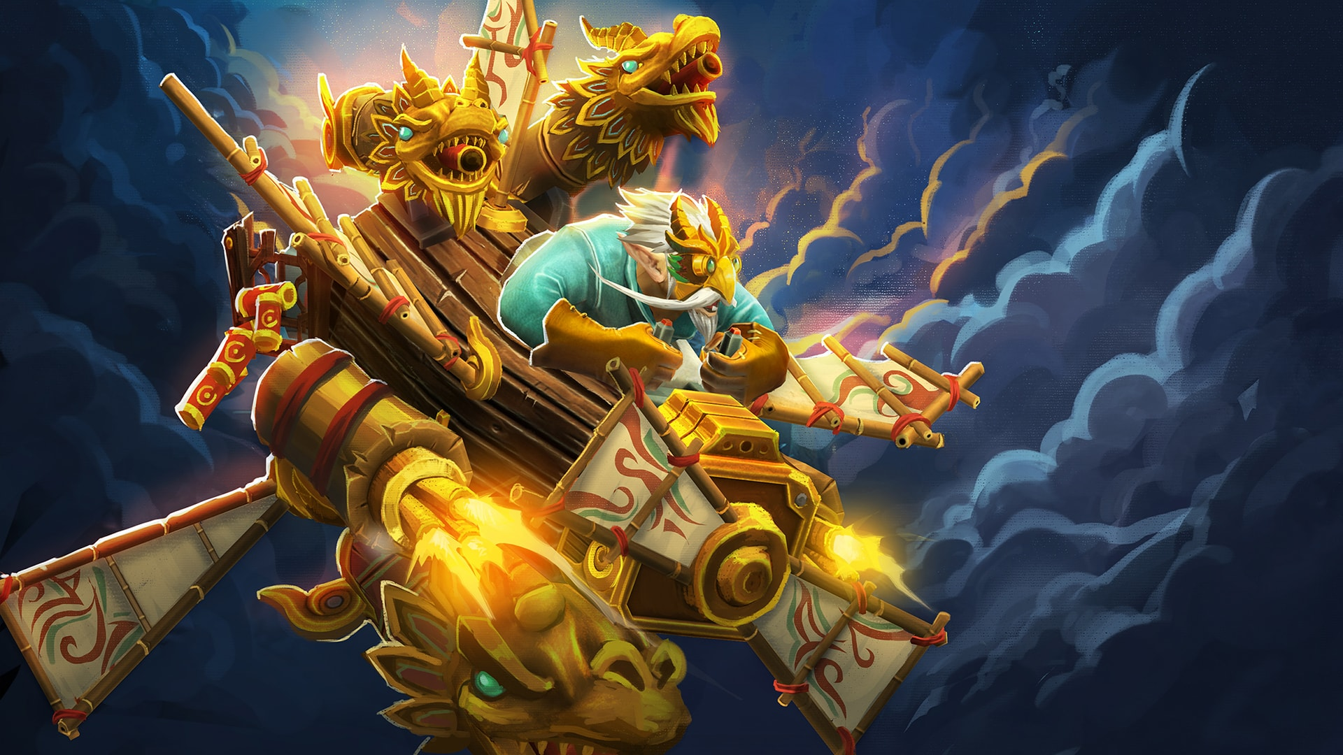 Dota2 Gyrocopter HD Wallpapers