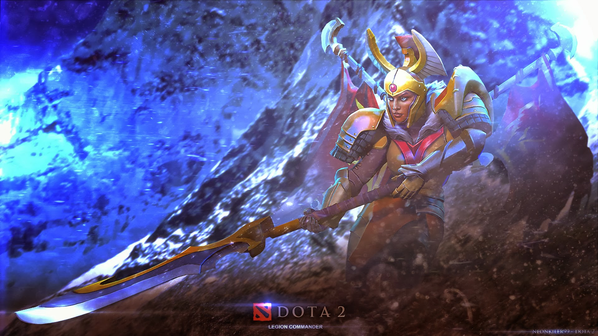 dota2 legion commander hd desktop wallpapers 7wallpapers net