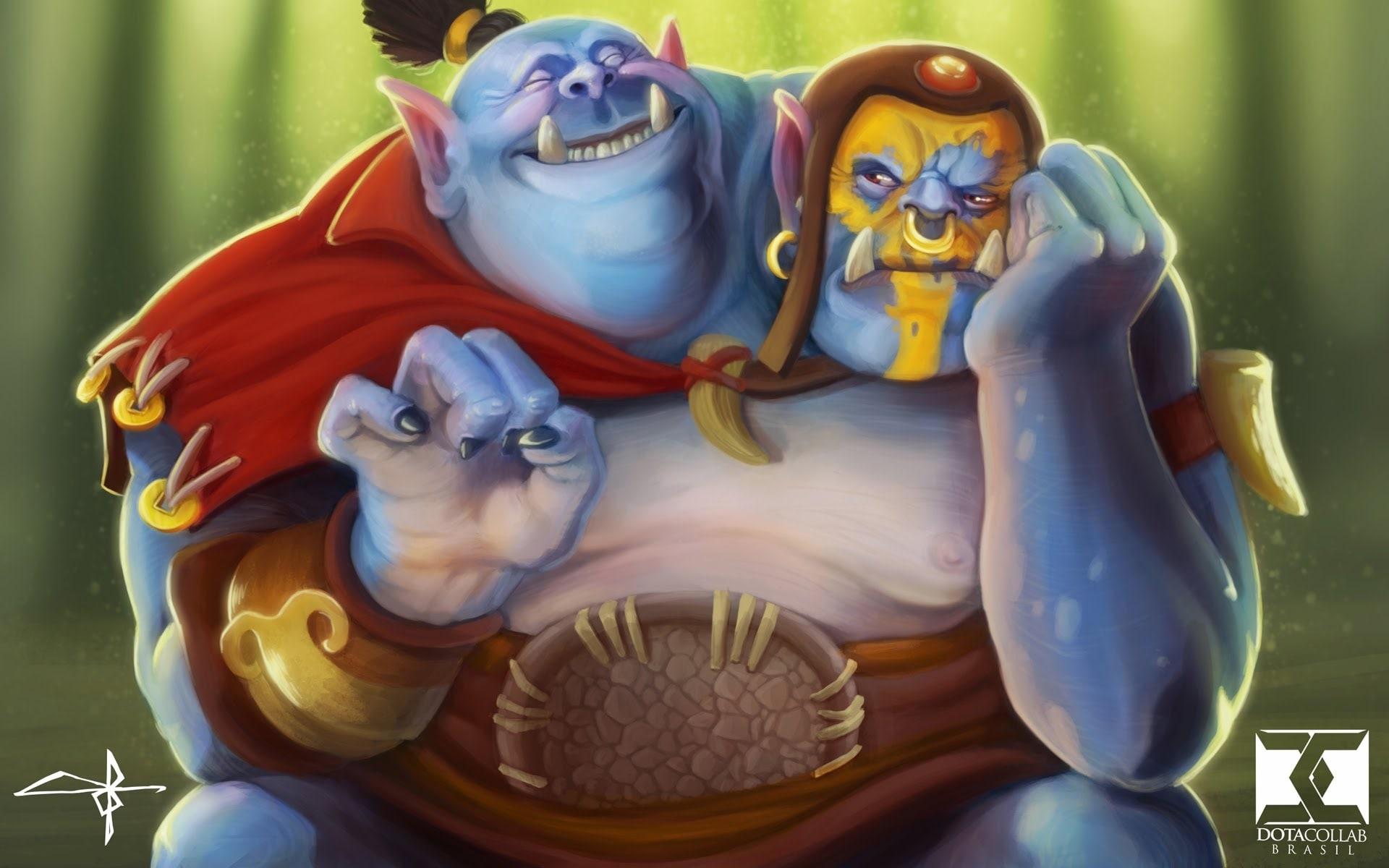 Dota2 : Ogre Magi HD pics