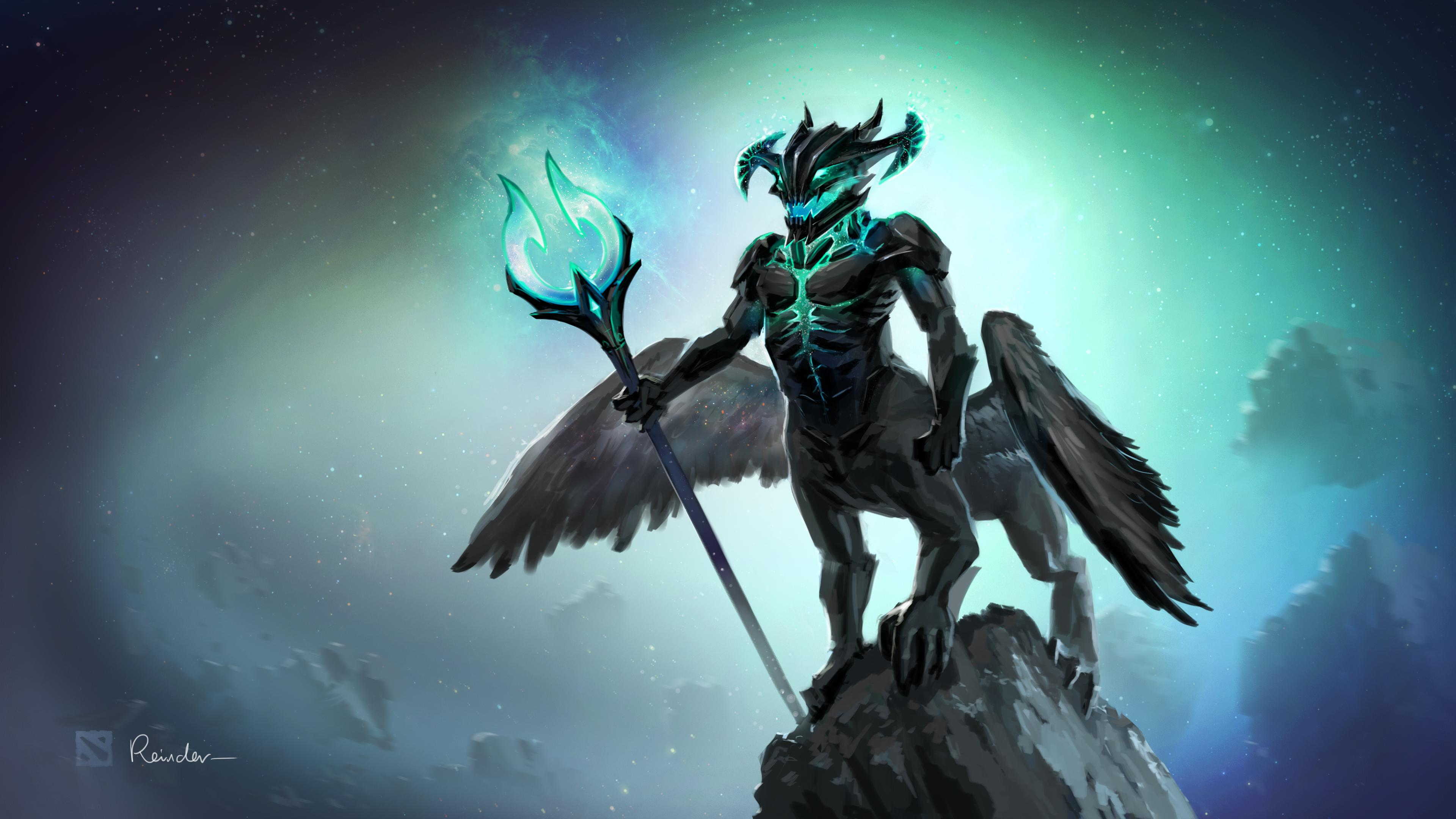 dota2 outworld devourer hd desktop wallpapers 7wallpapers net