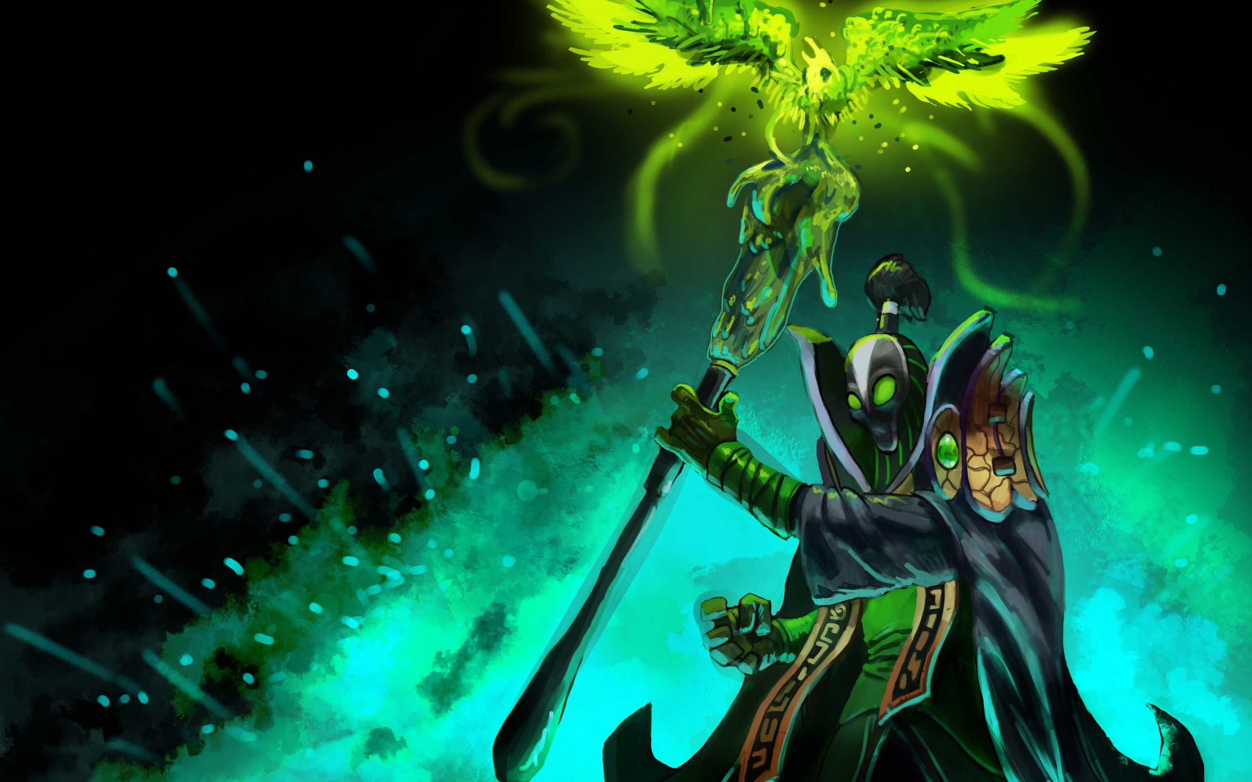 dota2 rubick hd desktop wallpapers 7wallpapers net