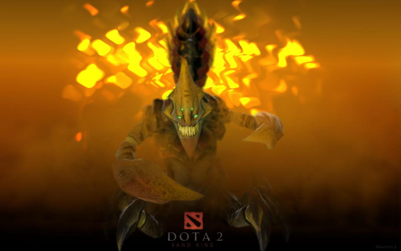 Dota2 : Sand King HD pics