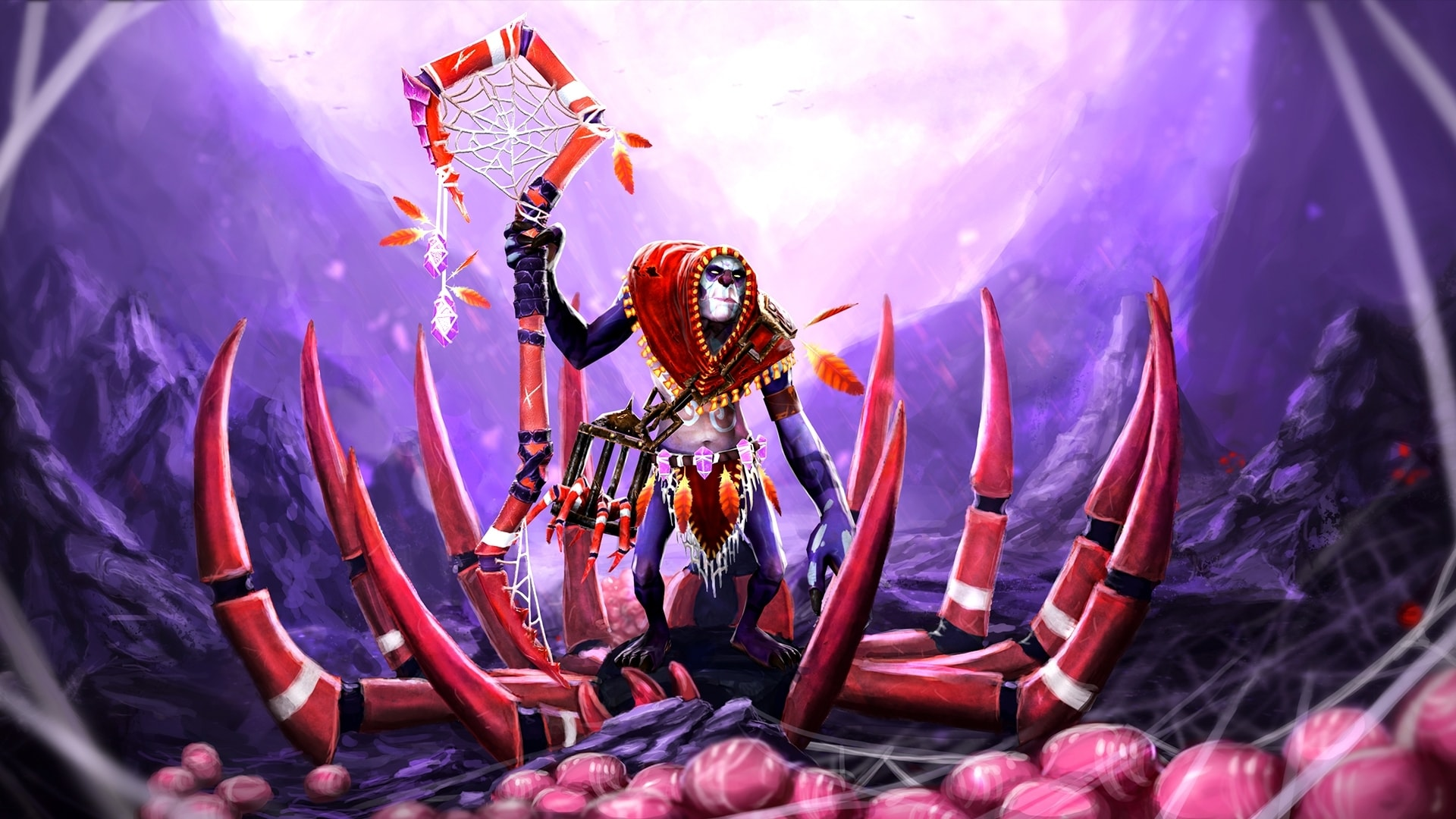 Dota2 Witch Doctor Background HD Pics