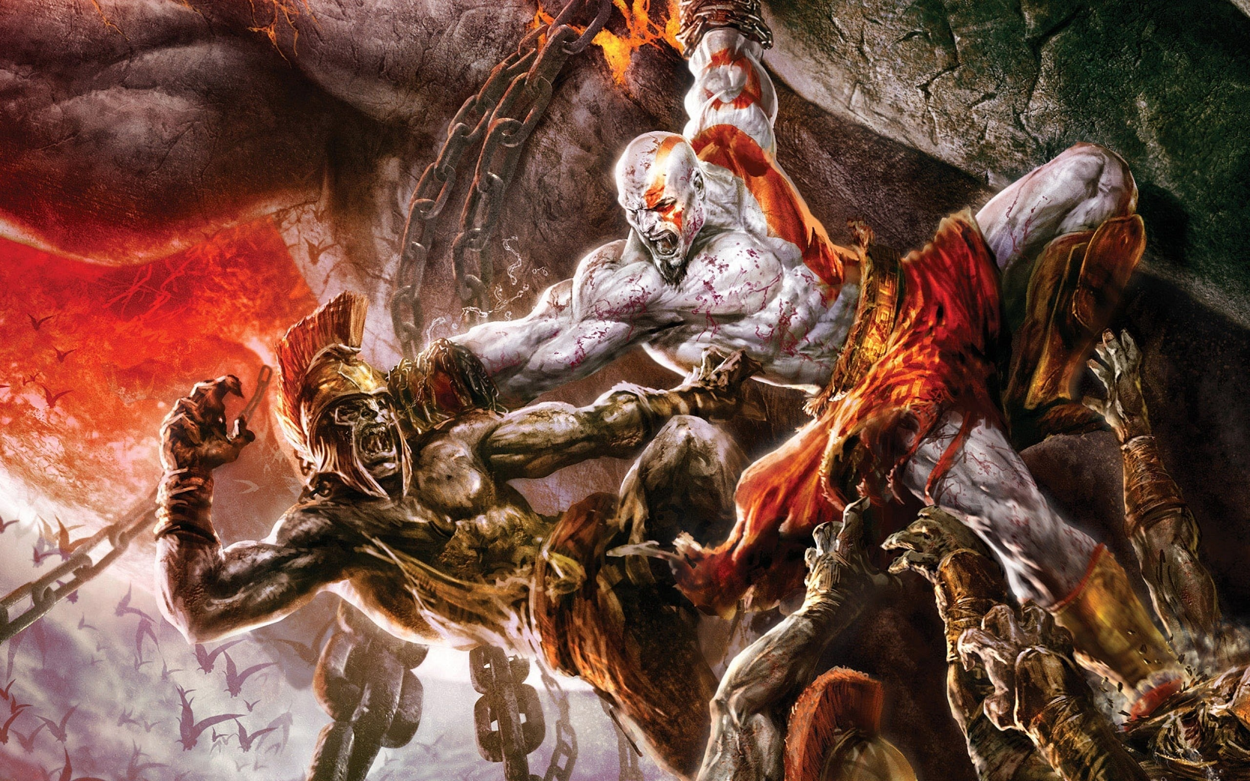 God Of War 2 HD pics