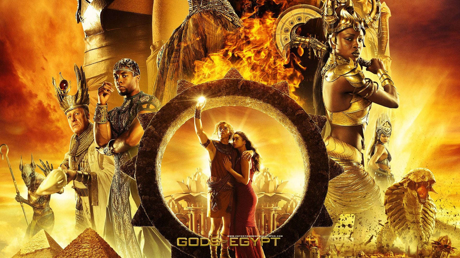 gods of egypt hd desktop wallpapers | 7wallpapers