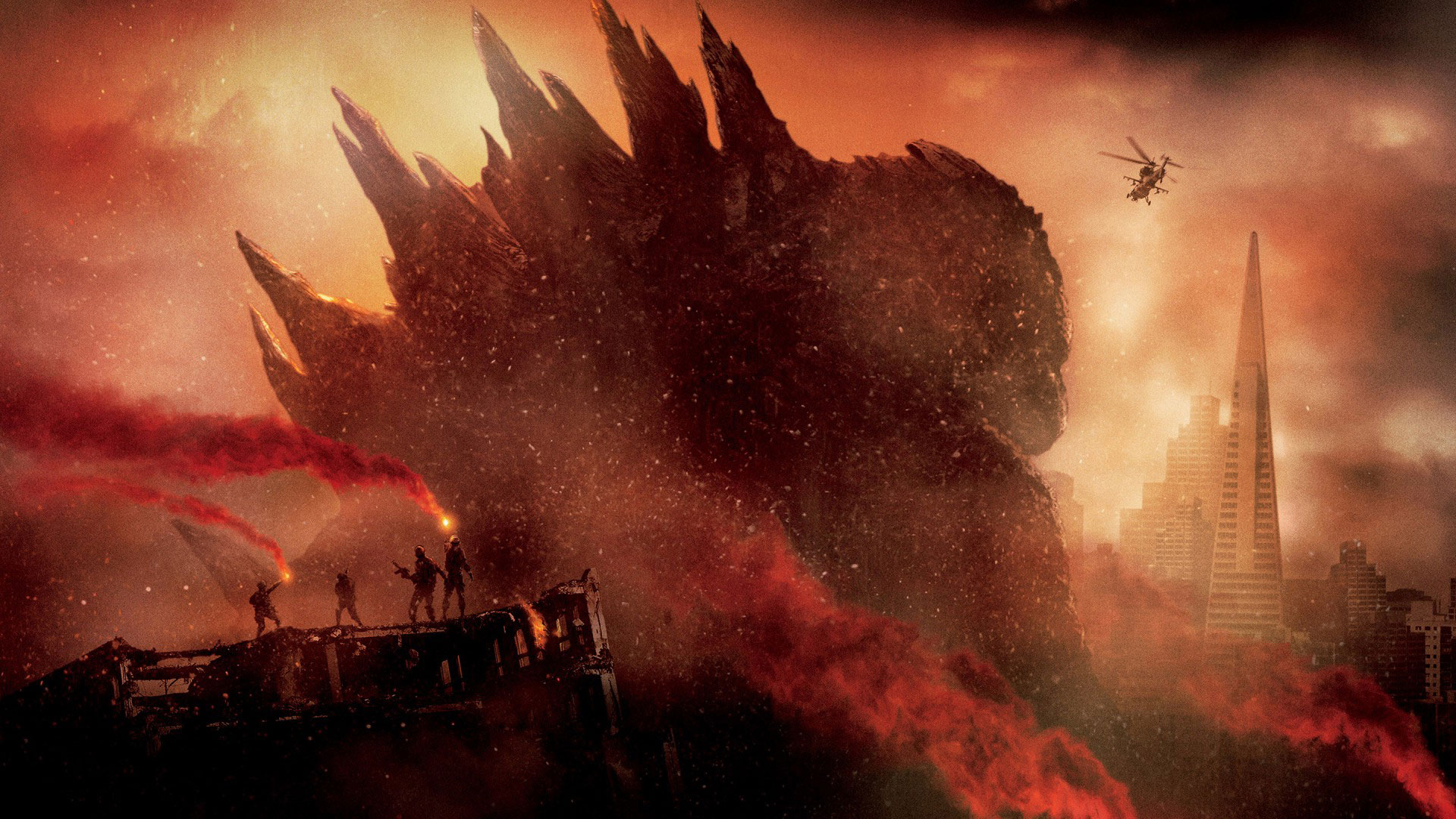 Godzilla 2014 Wallpapers hd