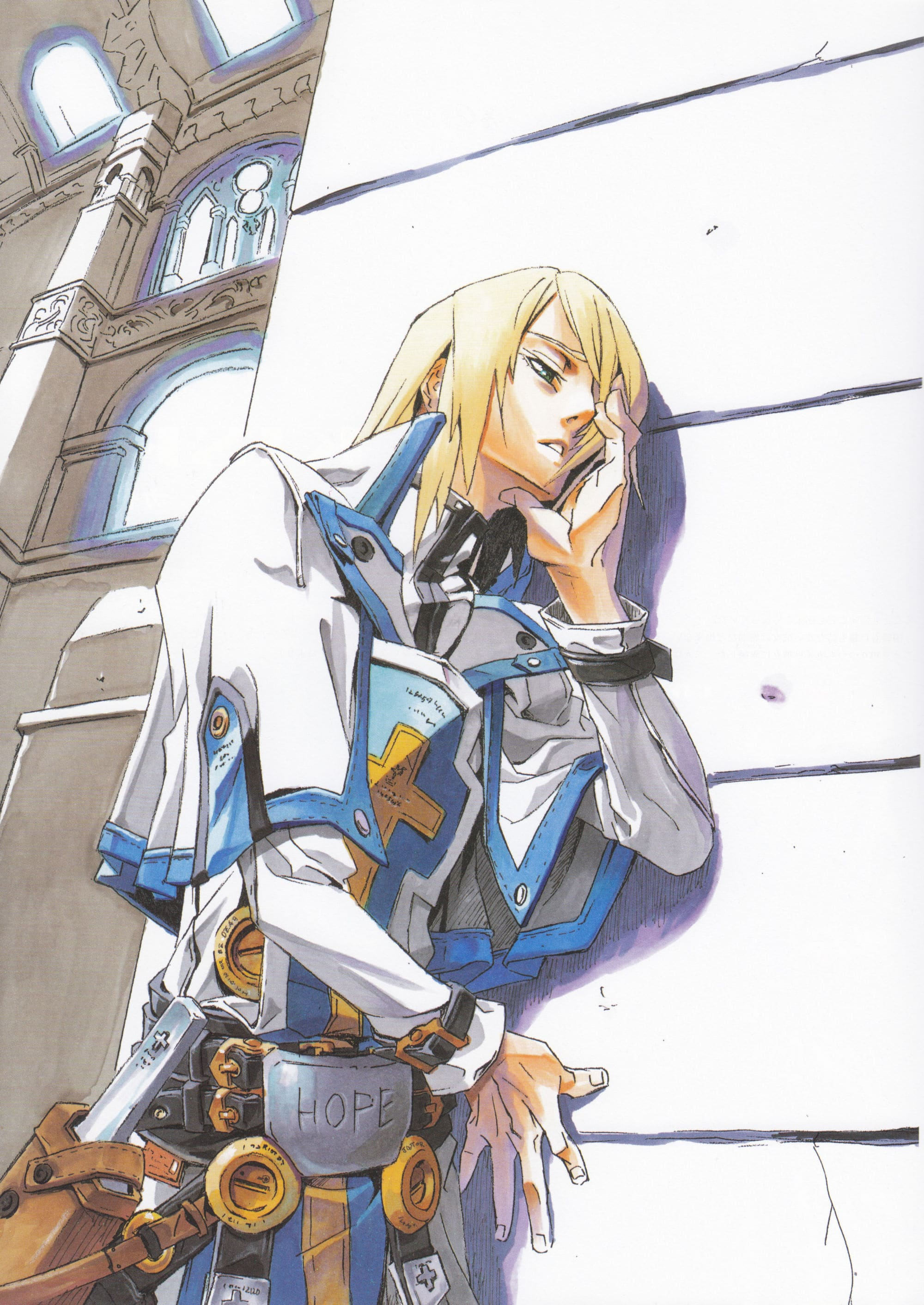 Guilty Gear: Ky Kiske Wallpapers hd