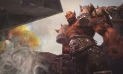 Hearthstone: Garrosh Hellscream widescreen for desktop