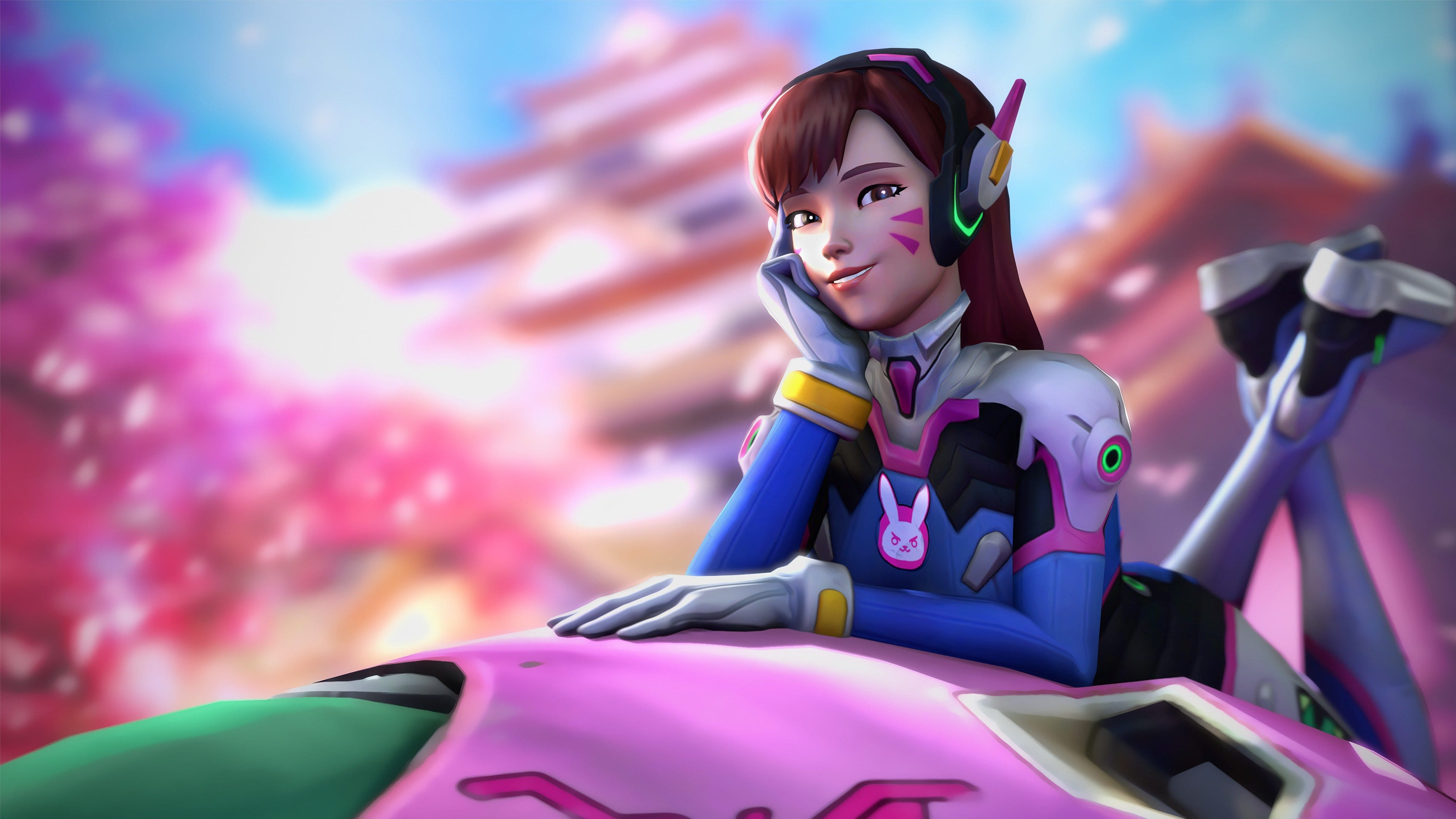 Overwatch : D.Va Wallpapers hd