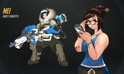 Overwatch : Mei Wallpapers hd