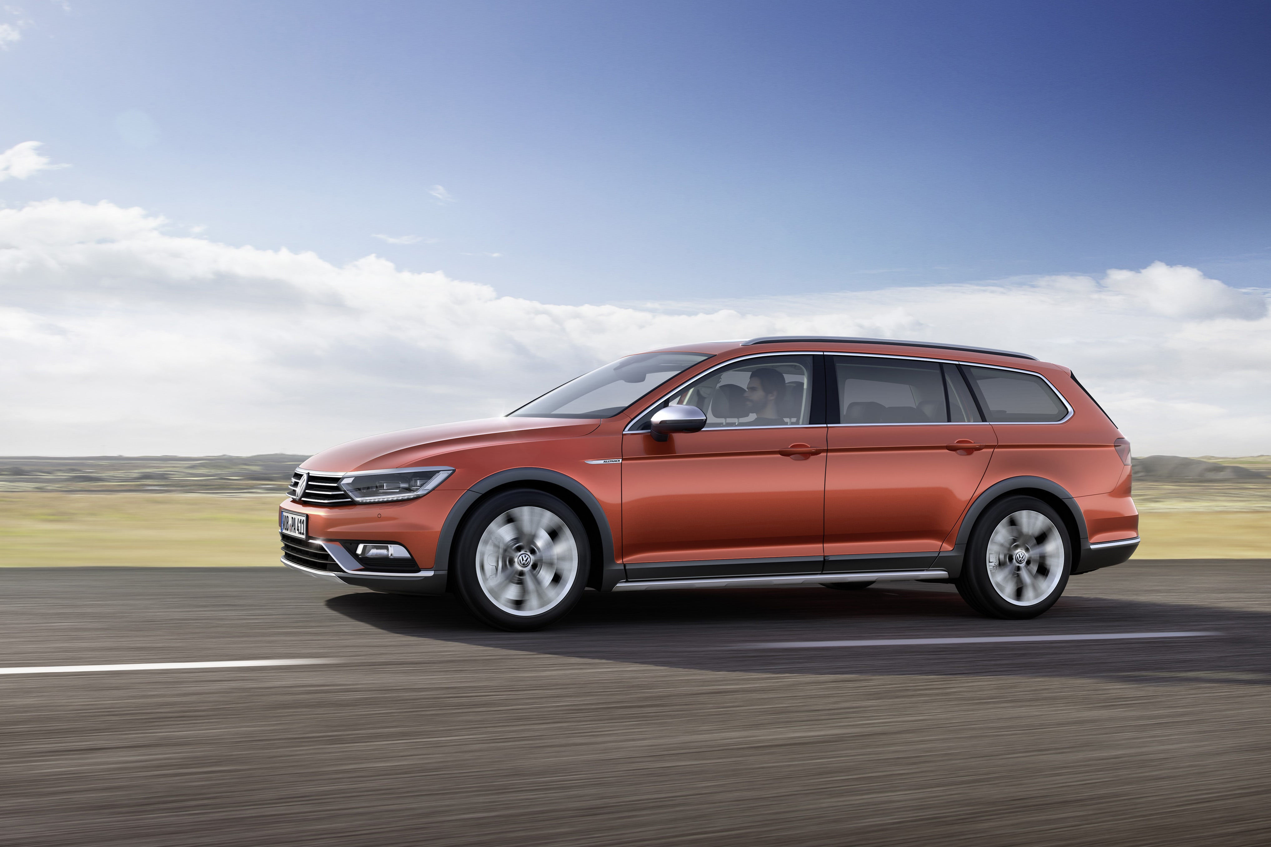 Volkswagen Passat B8 Alltrack Wallpapers hd