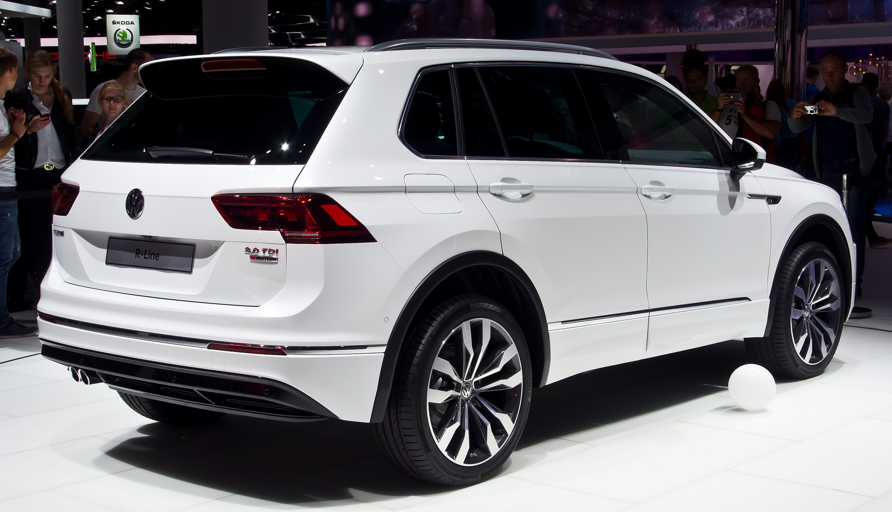 Volkswagen Tiguan 2 Wallpapers hd