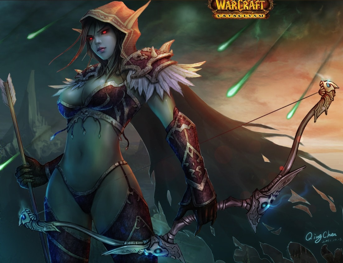 WOW: Valeera Sanguinar Wallpapers hd