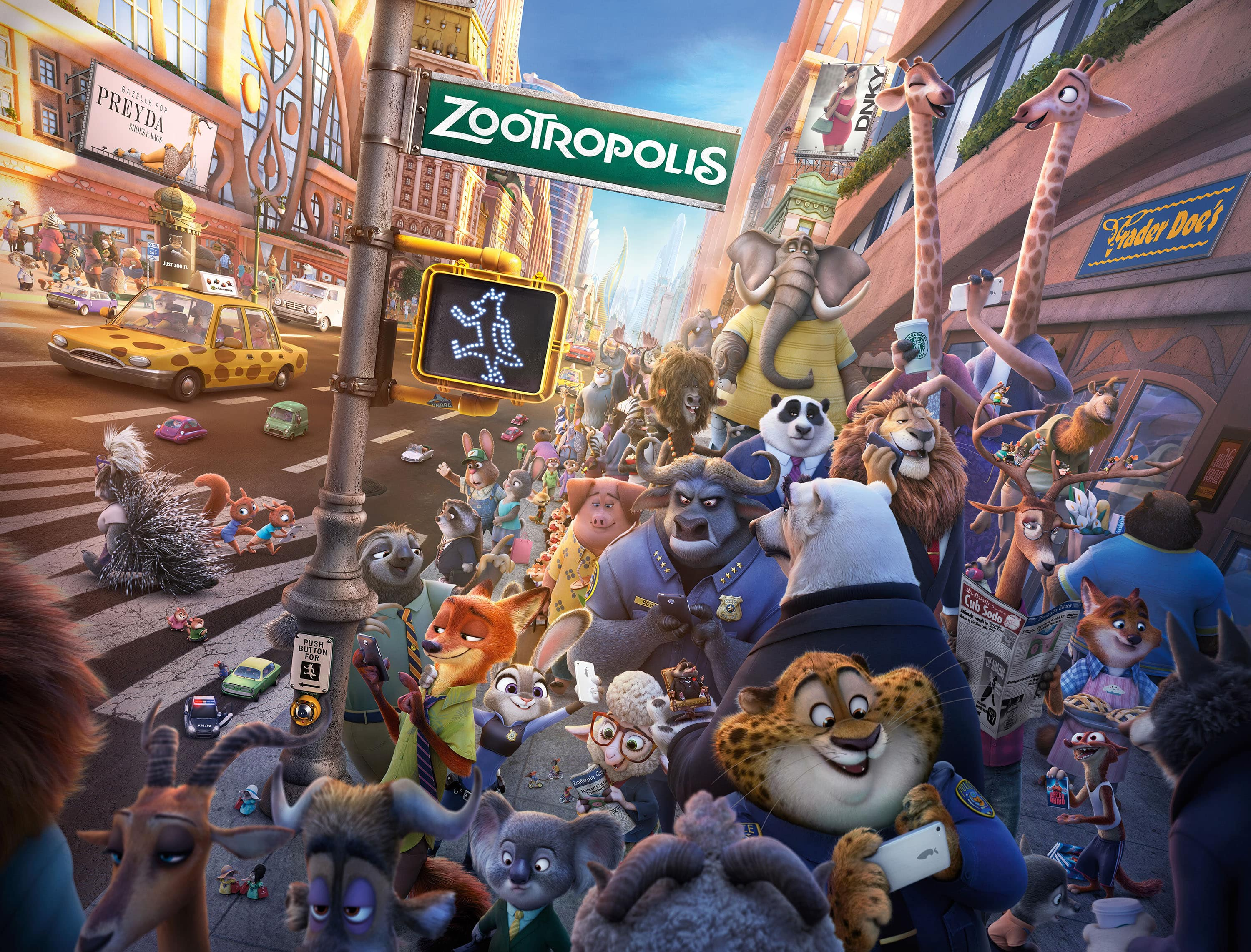 Zootopia widescreen wallpapers