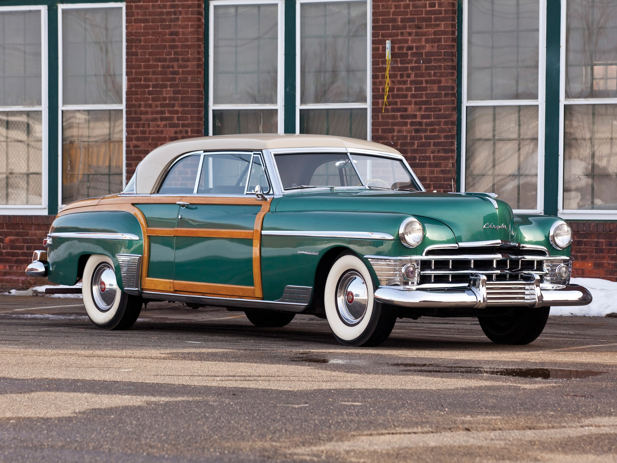 1950 Chrysler Town & Country Backgrounds