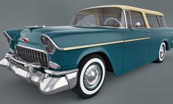 1955 Chevrolet Nomad Backgrounds