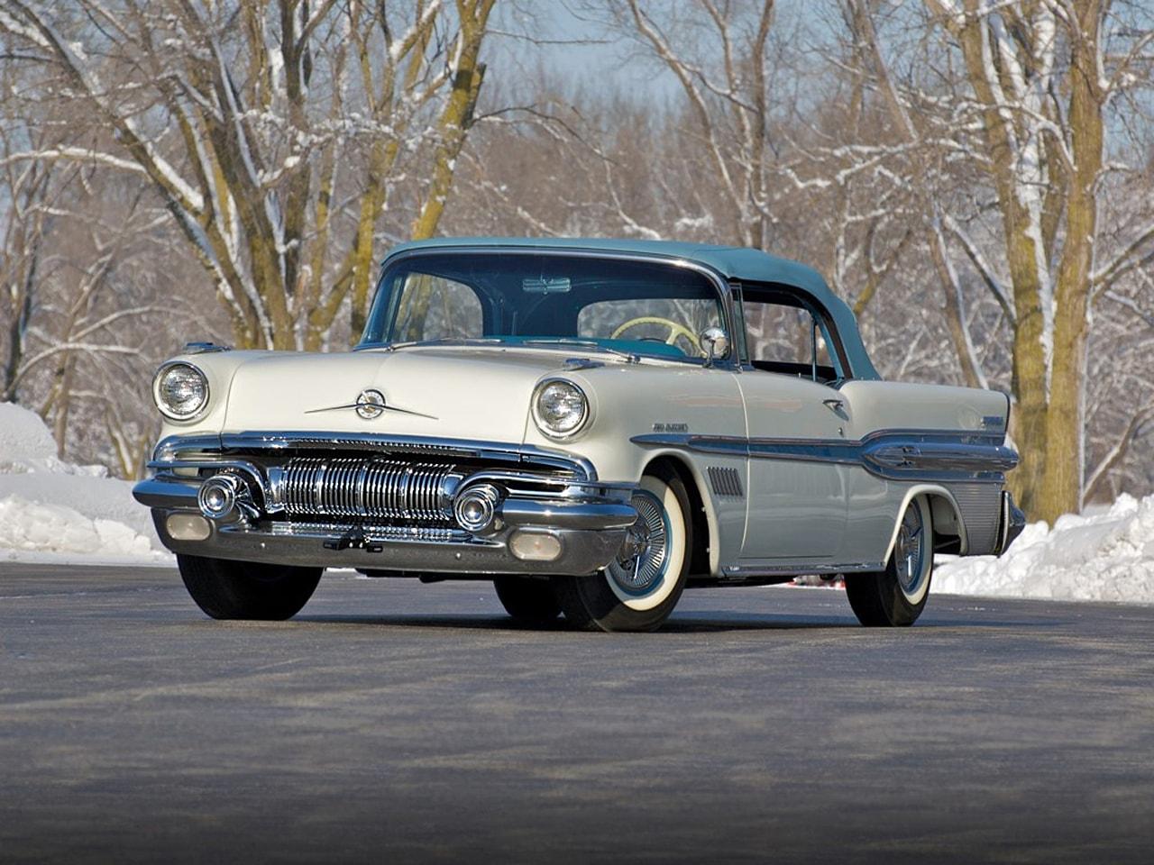 1957 Pontiac Star Chief Custom Bonneville Backgrounds